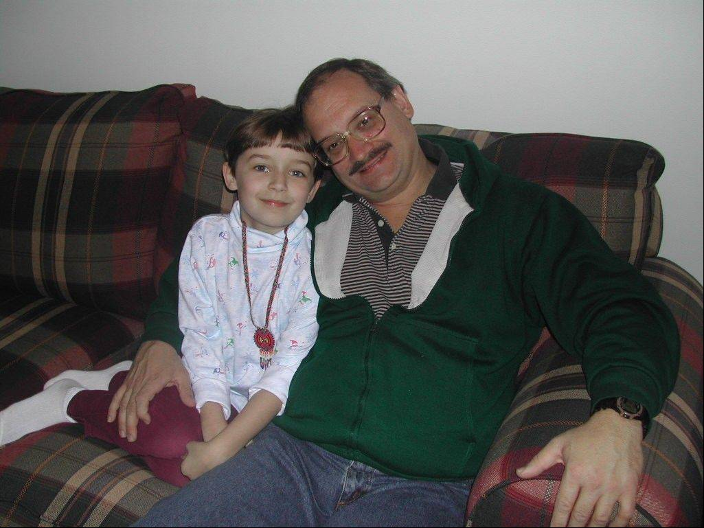 Alyssa Ludovice and her father, Christopher, in an undated family photo.