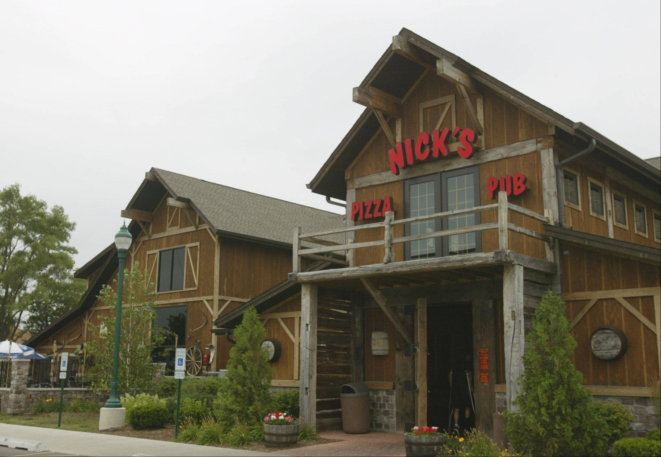 Nick's Pizza and Pub on Randall Road in Elgin will be one of two locations raising money for literacy funds for schools on Wednesday.