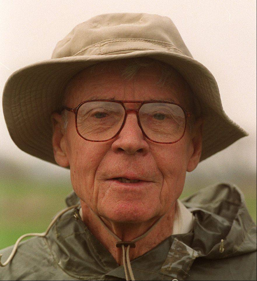 The late Dick Young, for whom the Dick Young Forest Preserve in Batavia is named, was a Marine during World War II.