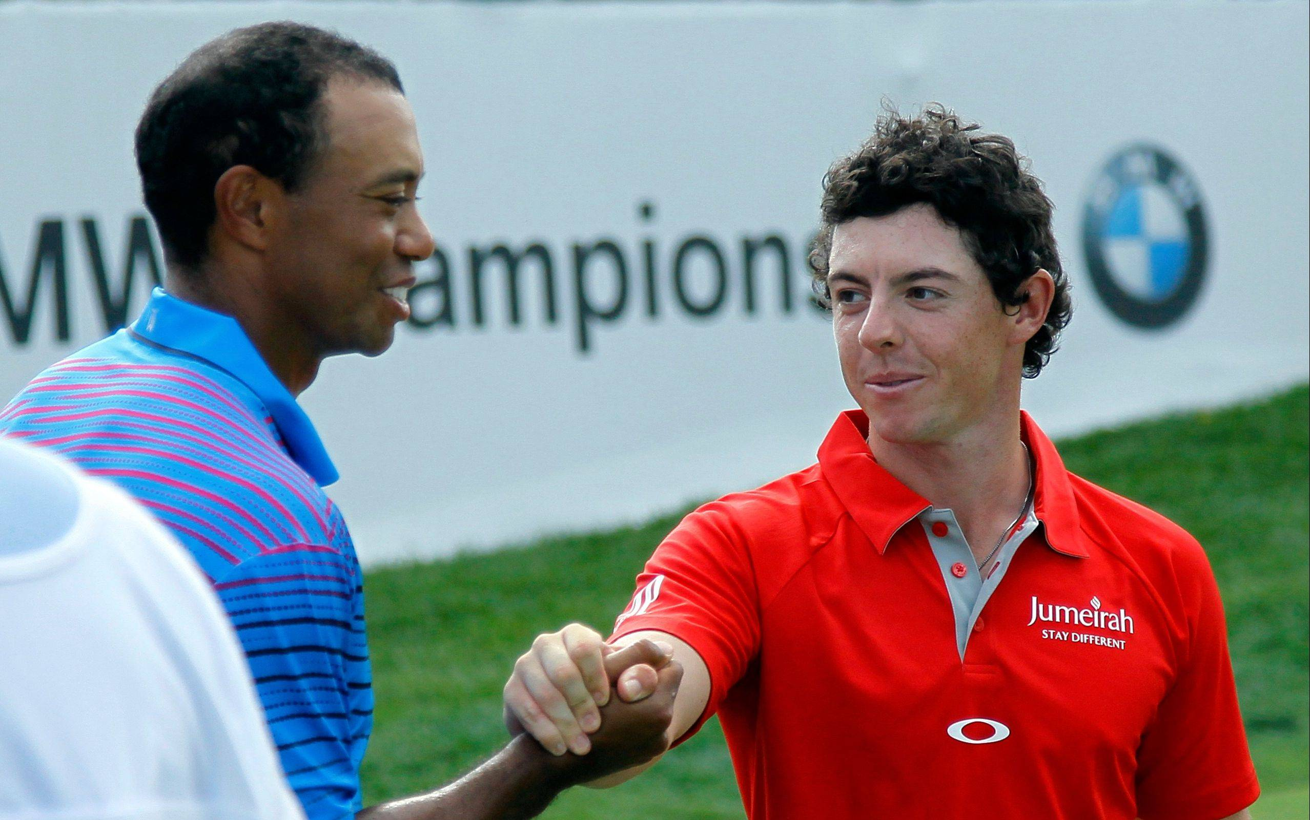 Tiger Woods paired against Rory McIlroy in the singles matches on the final day of the Ryder Cup this month at Medinah is the wish of Mike Spellman.