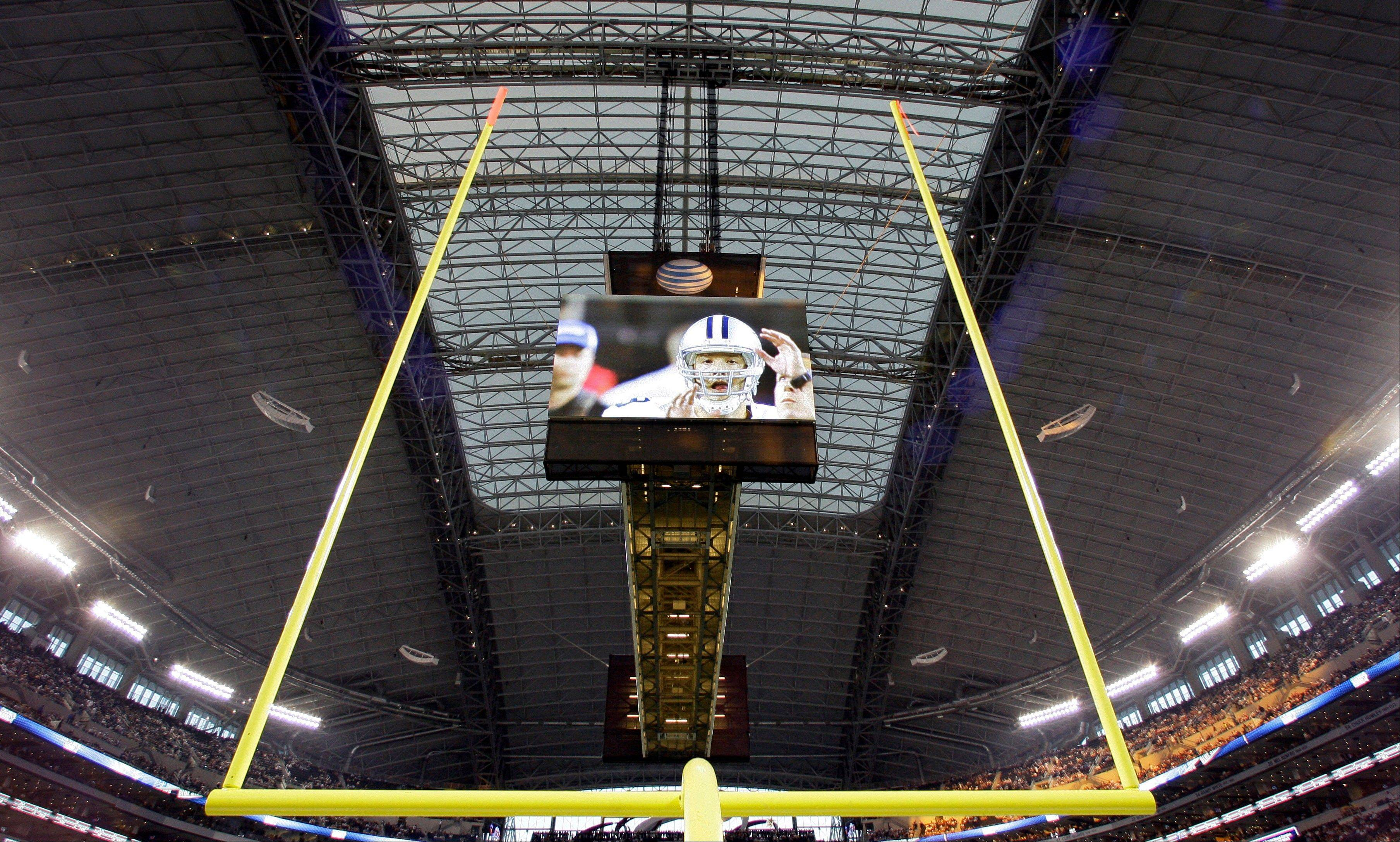 The Dallas Cowboys boast a high-tech stadium and video display, but there are more advances to come in the NFL. The first-down line that has become a staple of all NFL broadcasts could become a fixture for fans at the stadium, and chain crews might disappear if measurements can accurately be determined through high-tech gadgets.