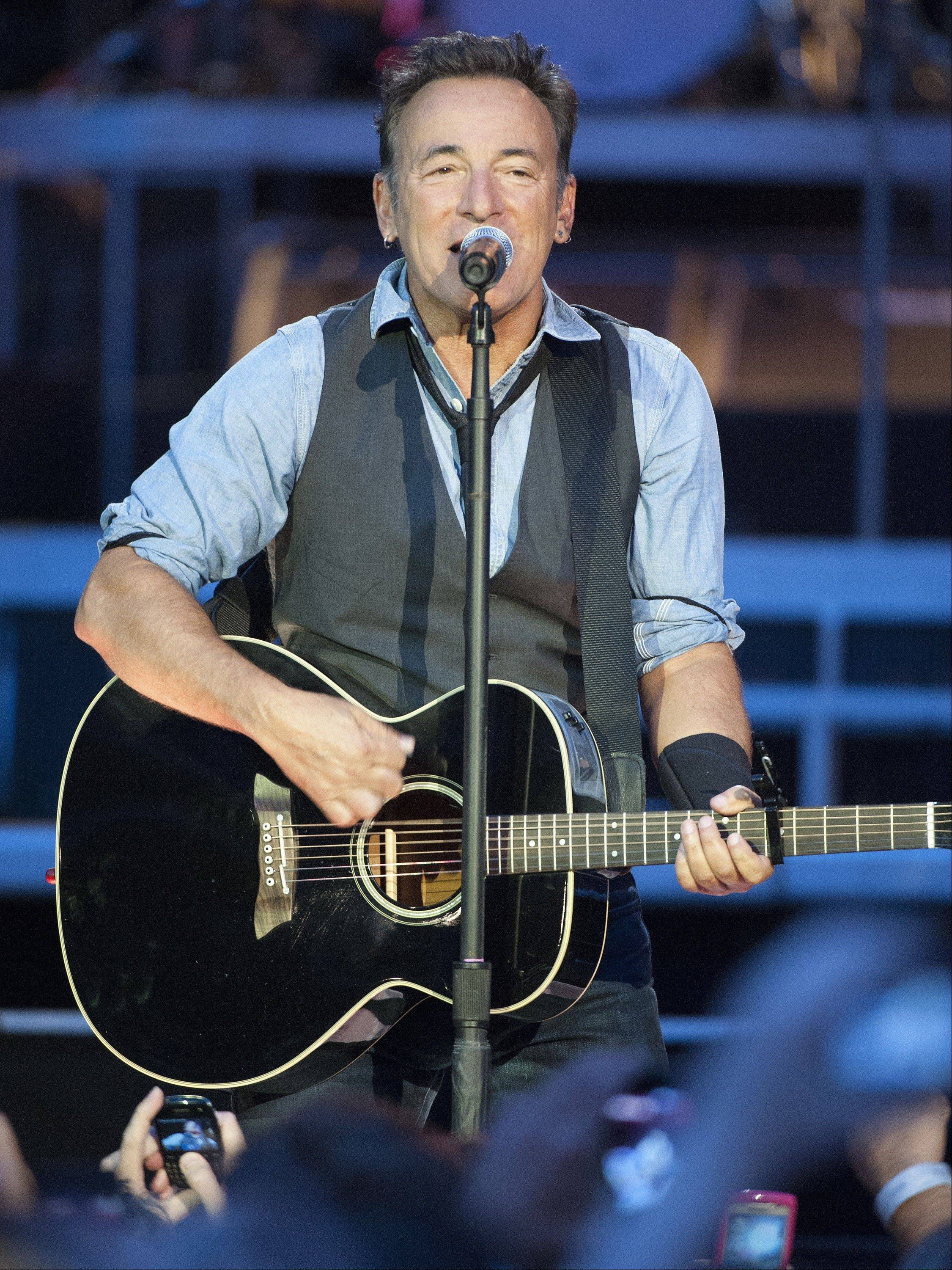 Bruce Springsteen & The E Street Band bring the Wrecking Ball Tour to Wrigley Field this weekend.