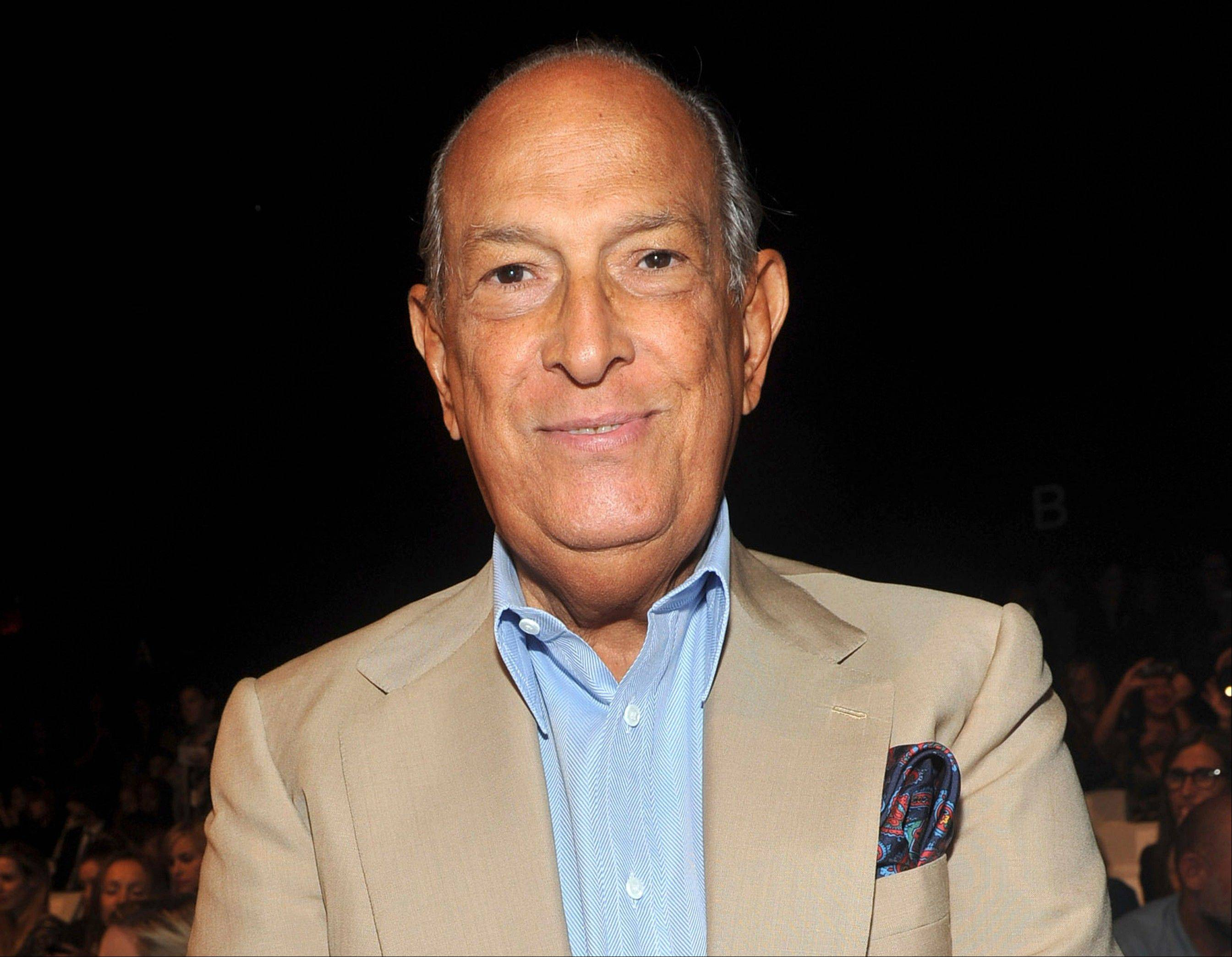 Designer Oscar de la Renta received the 2012 Couture Council Award by The Fashion Institute of Technology in New York.