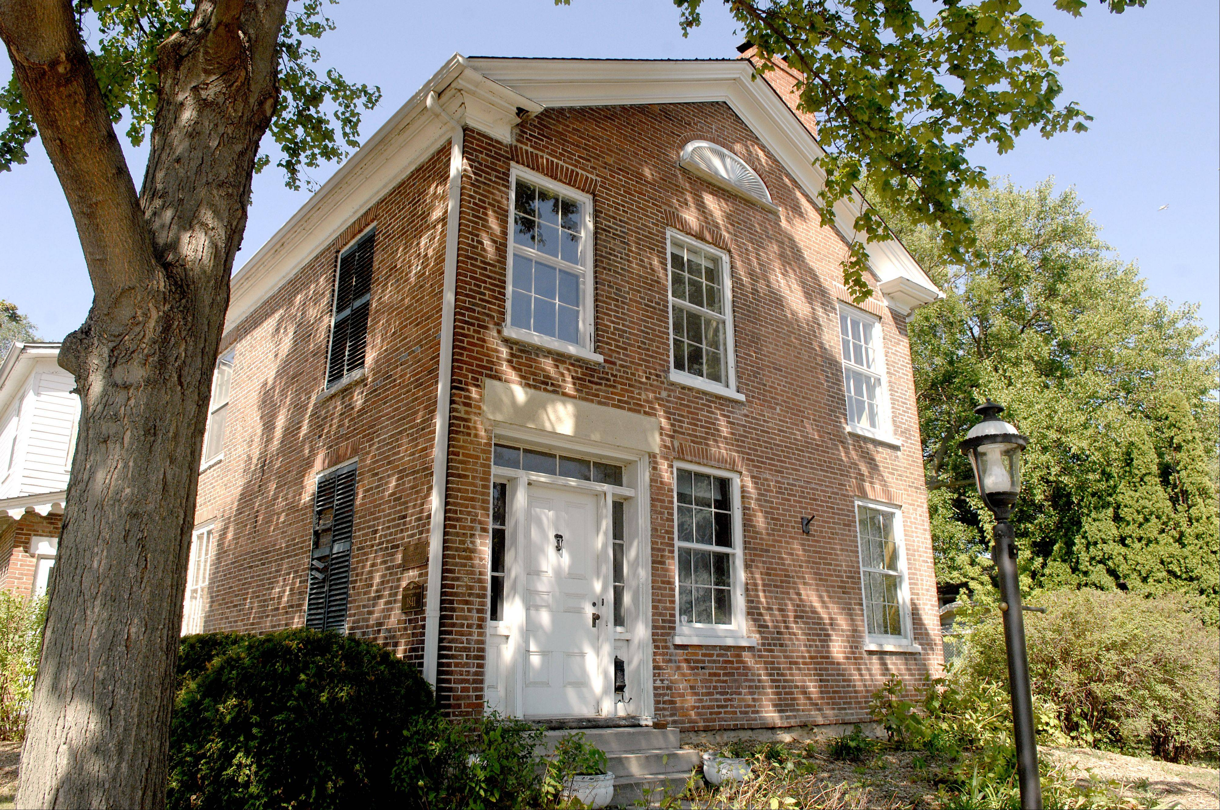 The Dunham-Hunt House at Cedar and Third avenues in St. Charles is back on the market but needs many repairs.