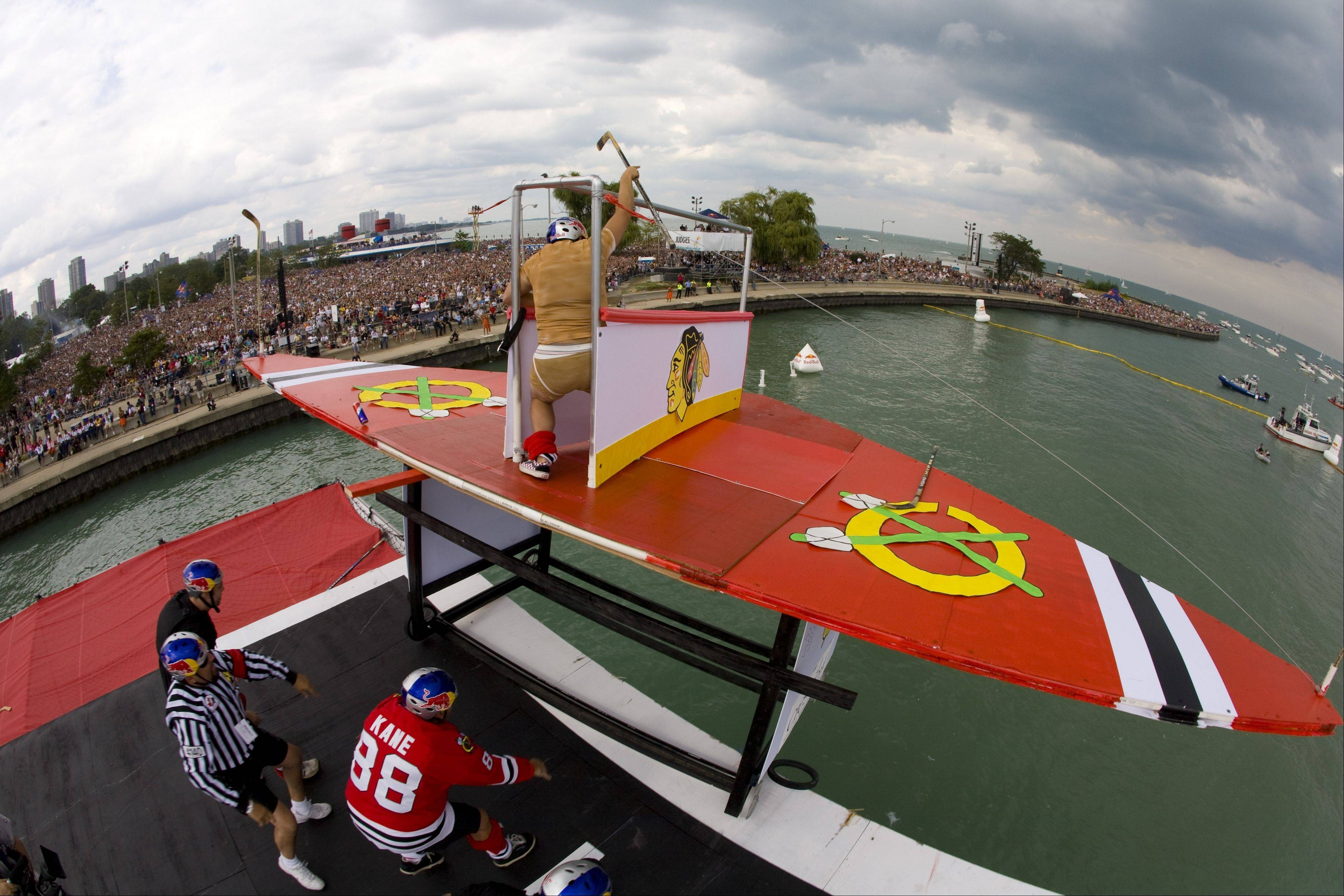 The Red Bull Flugtag, which attracted 75,000 people to Chicago's lakefront in 2008, has been canceled because of marine conditions.