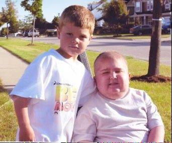 Getting ready for race helps Huntley boy remember his best friend