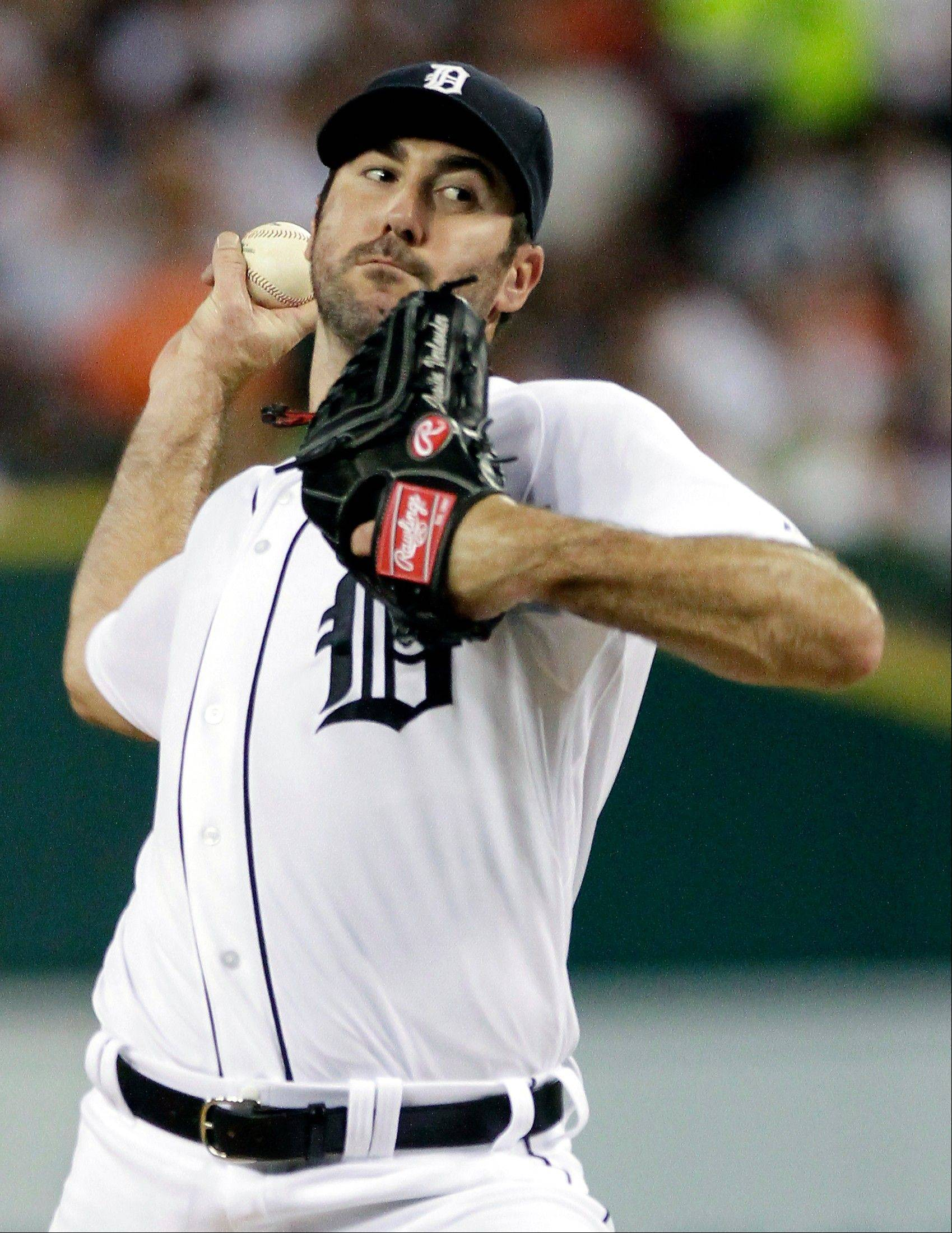 Starter Justin Verlander and the Detroit Tigers are in town to face the White Sox. Verlander pitches Thursday night.