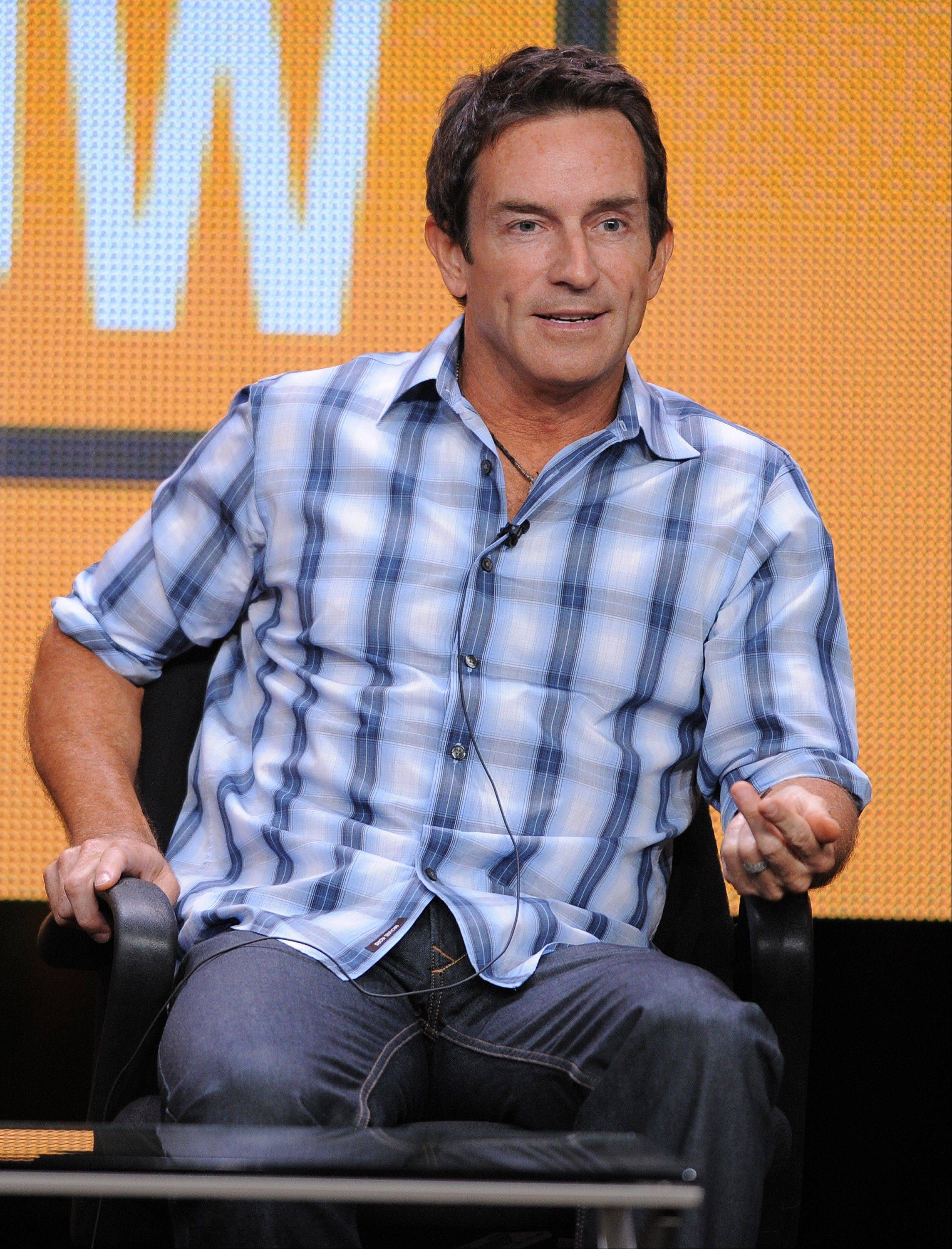Jeff Probst is part of a crowded Class of 2012 in the daytime talk world. Maybe he'll succeed and maybe he won't. But he's determined to have fun trying.