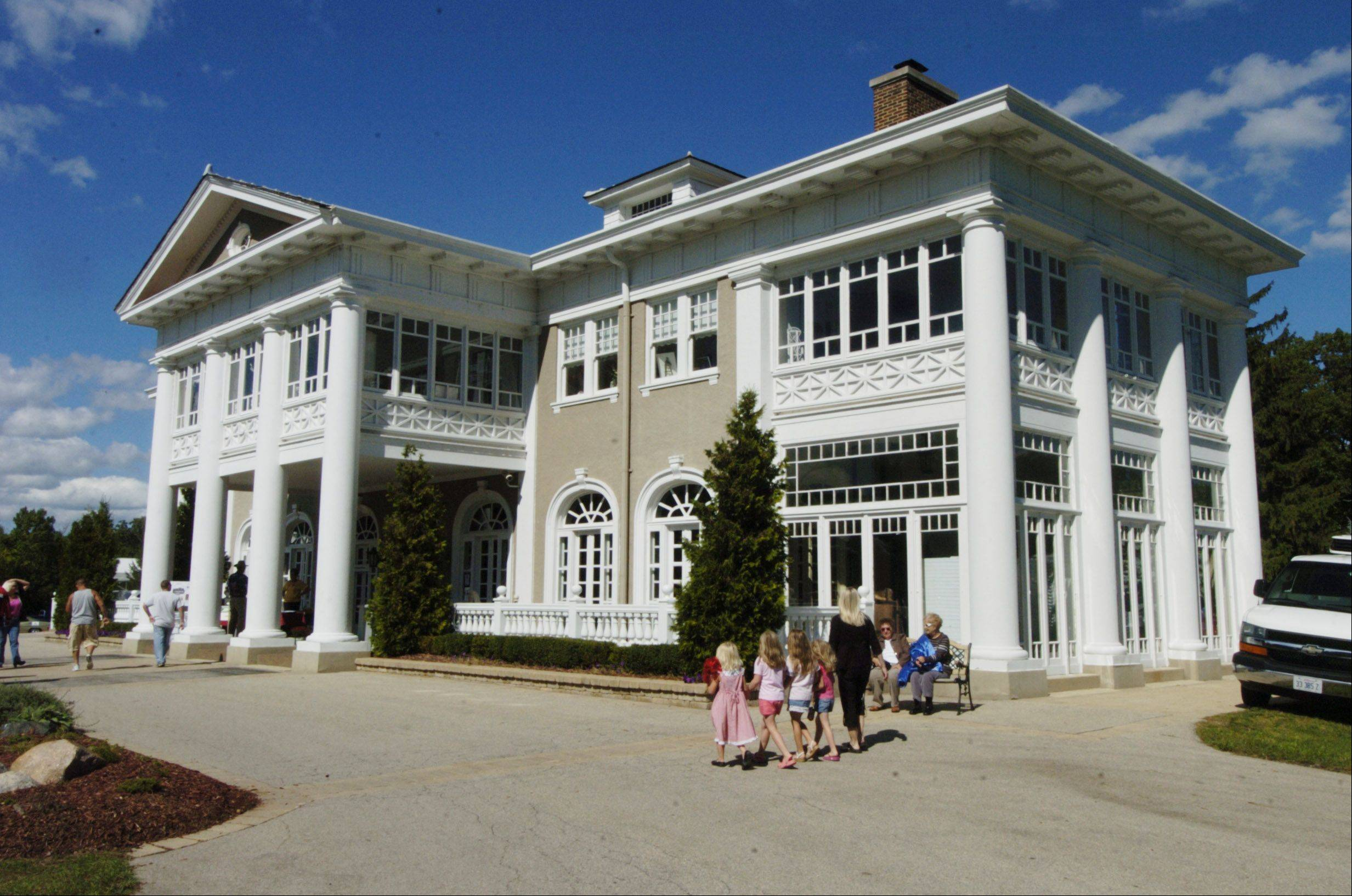 Lake Villa celebrates the 100th anniversary celebration of the Lehmann Mansion with a party on the grounds Sunday.