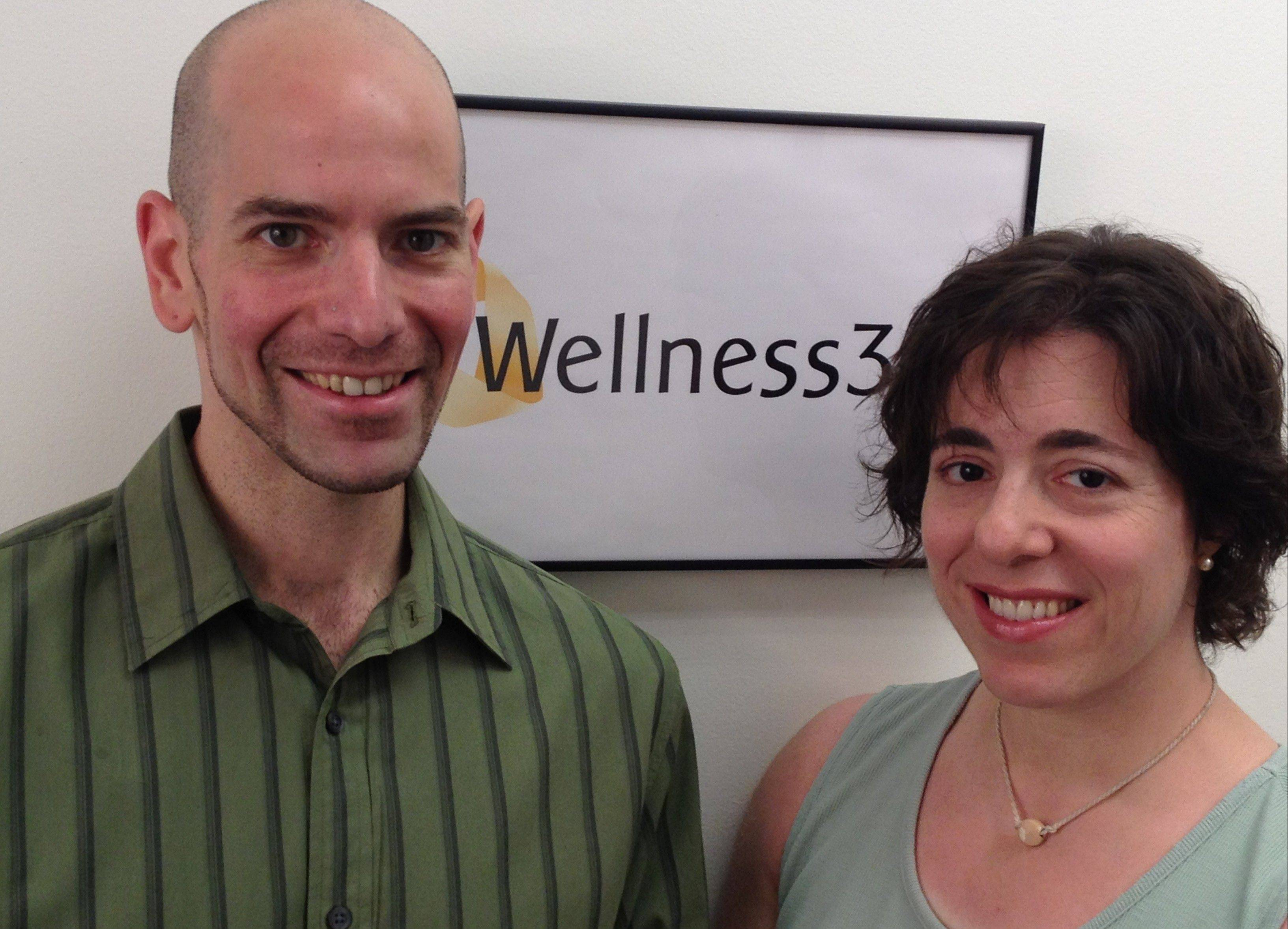 Michael Richards, a certified personal trainer and Dr. Gail Bryant are the owners of Wellness 365 in Arlington Heights.