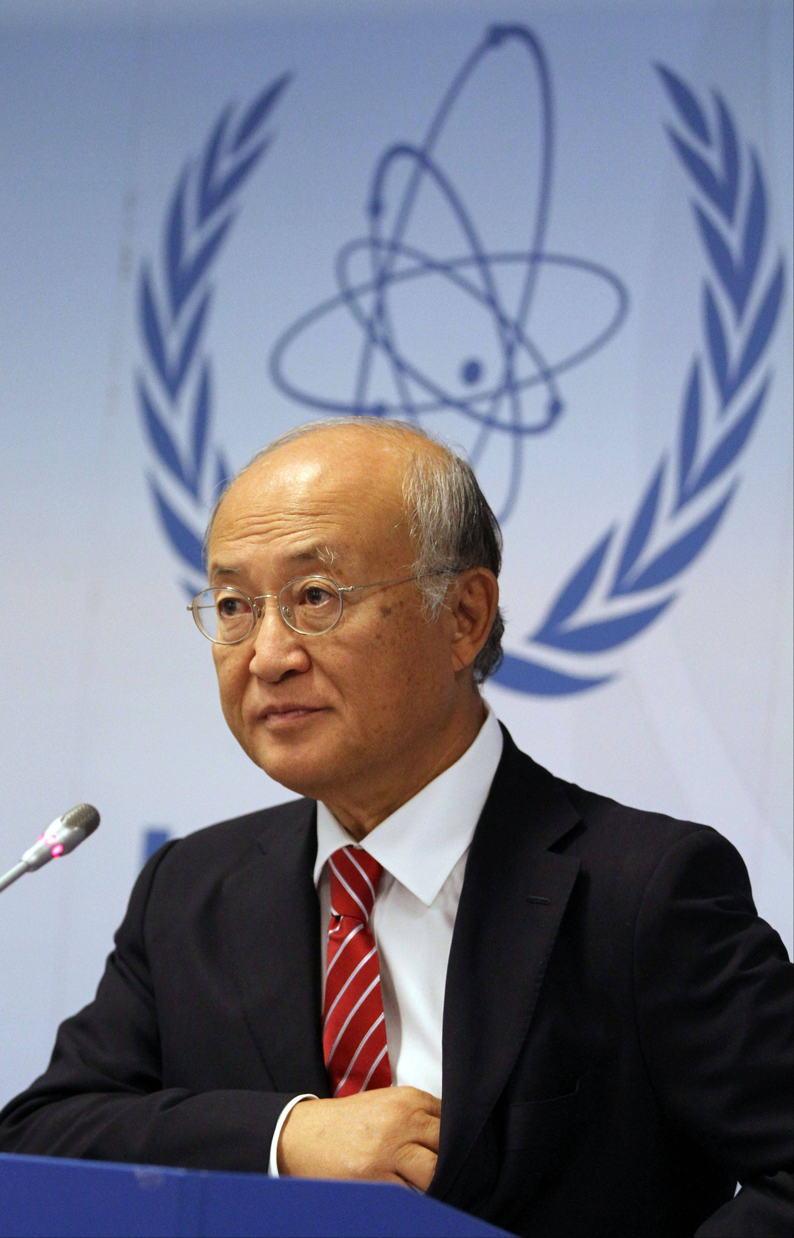 Director General of the International Atomic Energy Agency Yukiya Amano of Japan made an unusually strong demand Monday for Iran to cooperate with an investigation into suspected secret work on nuclear weapons.