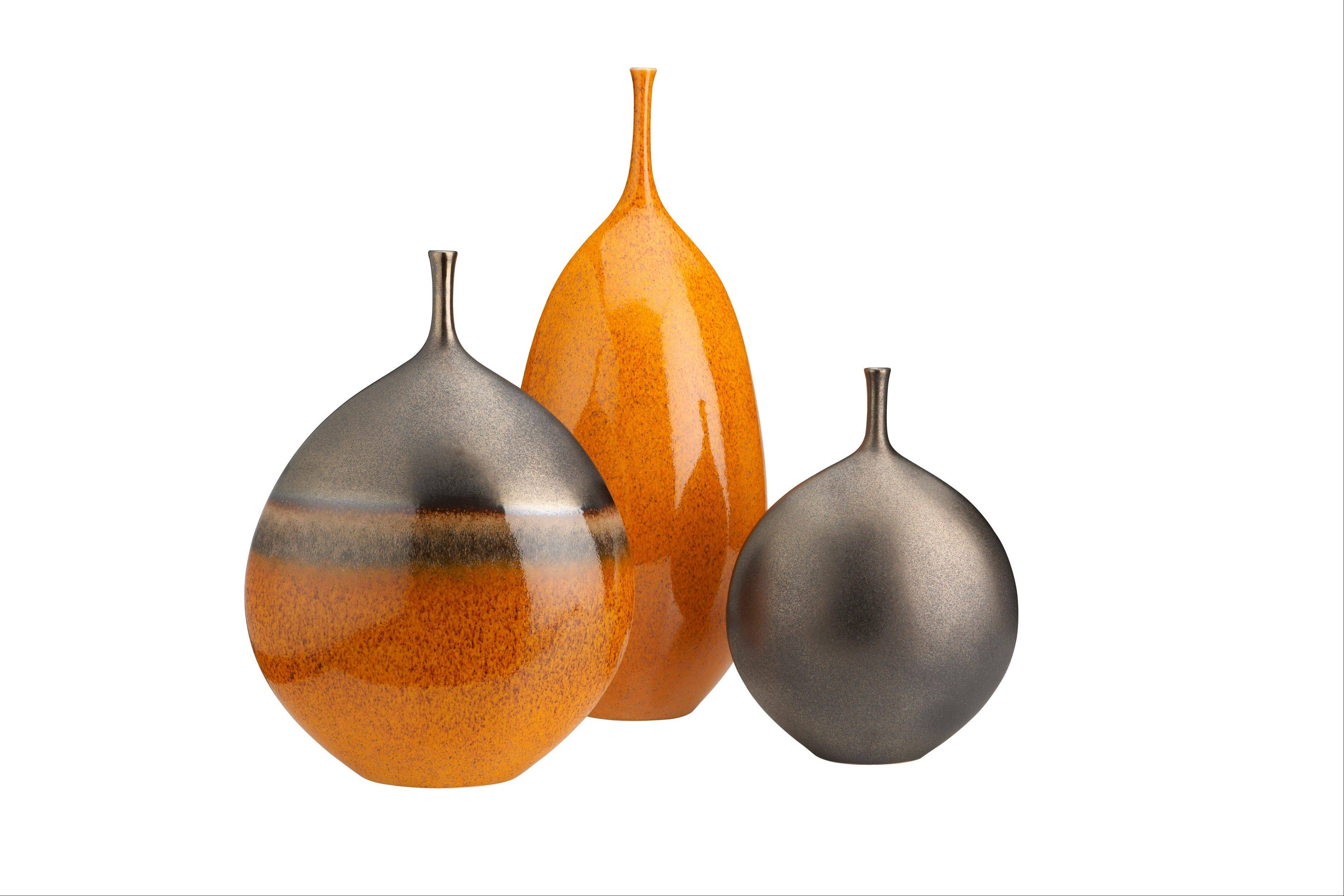 Galeras vases in Portuguese ceramic have an earthy, yet modern vibe.
