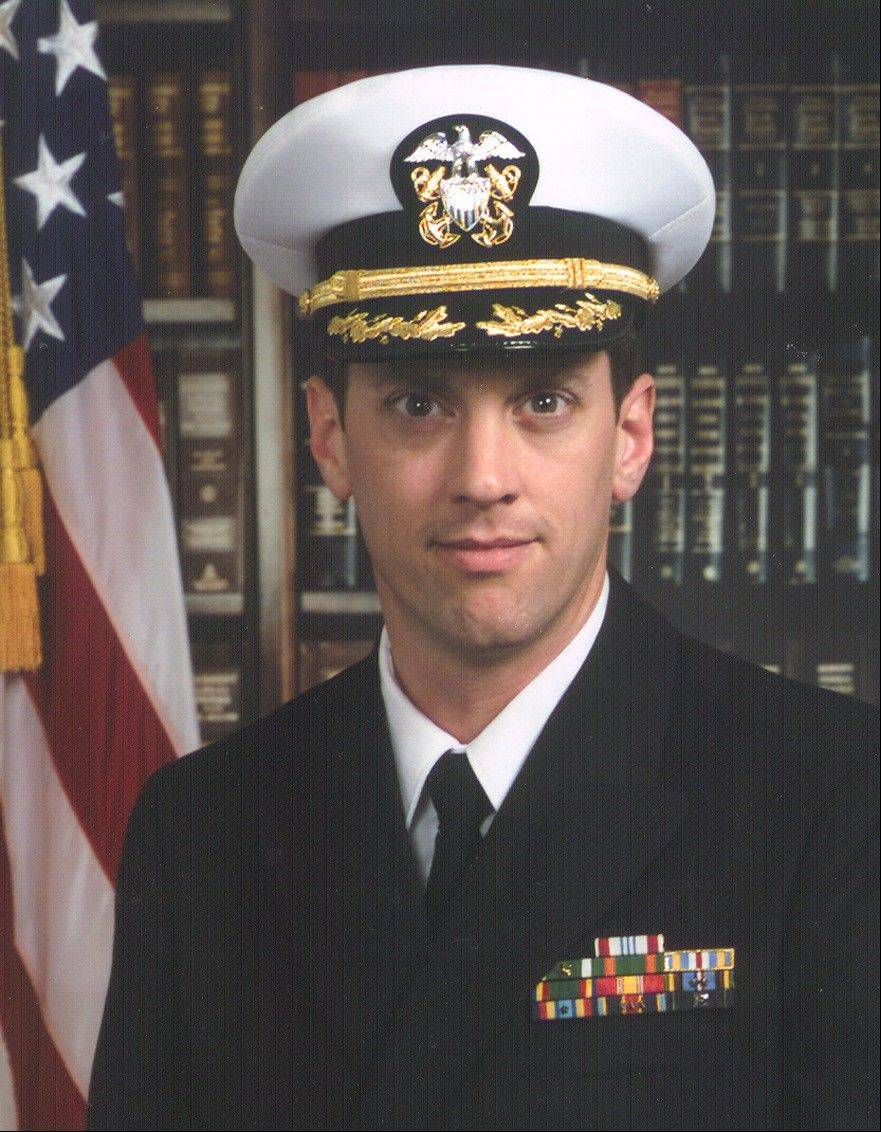Lt. Cmdr. Dan Shanower, formerly of Naperville, was killed Sept. 11, 2001, in the terrorist attack on the Pentagon.