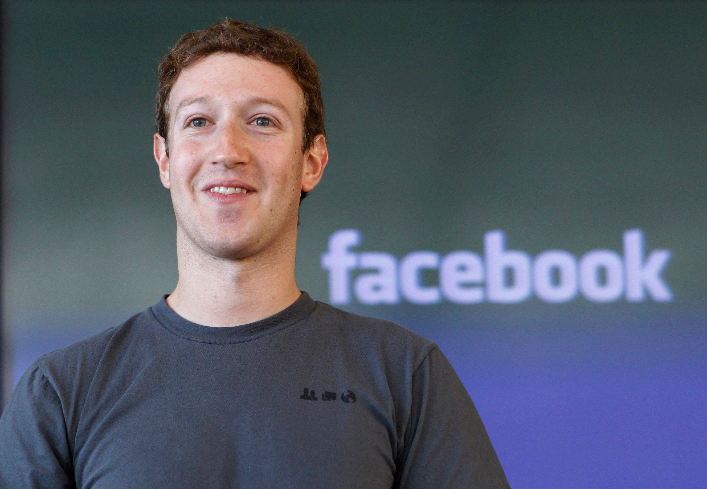 Associated Press/Jan. 3, 2011 Facebook CEO Mark Zuckerberg smiles in San Francisco.