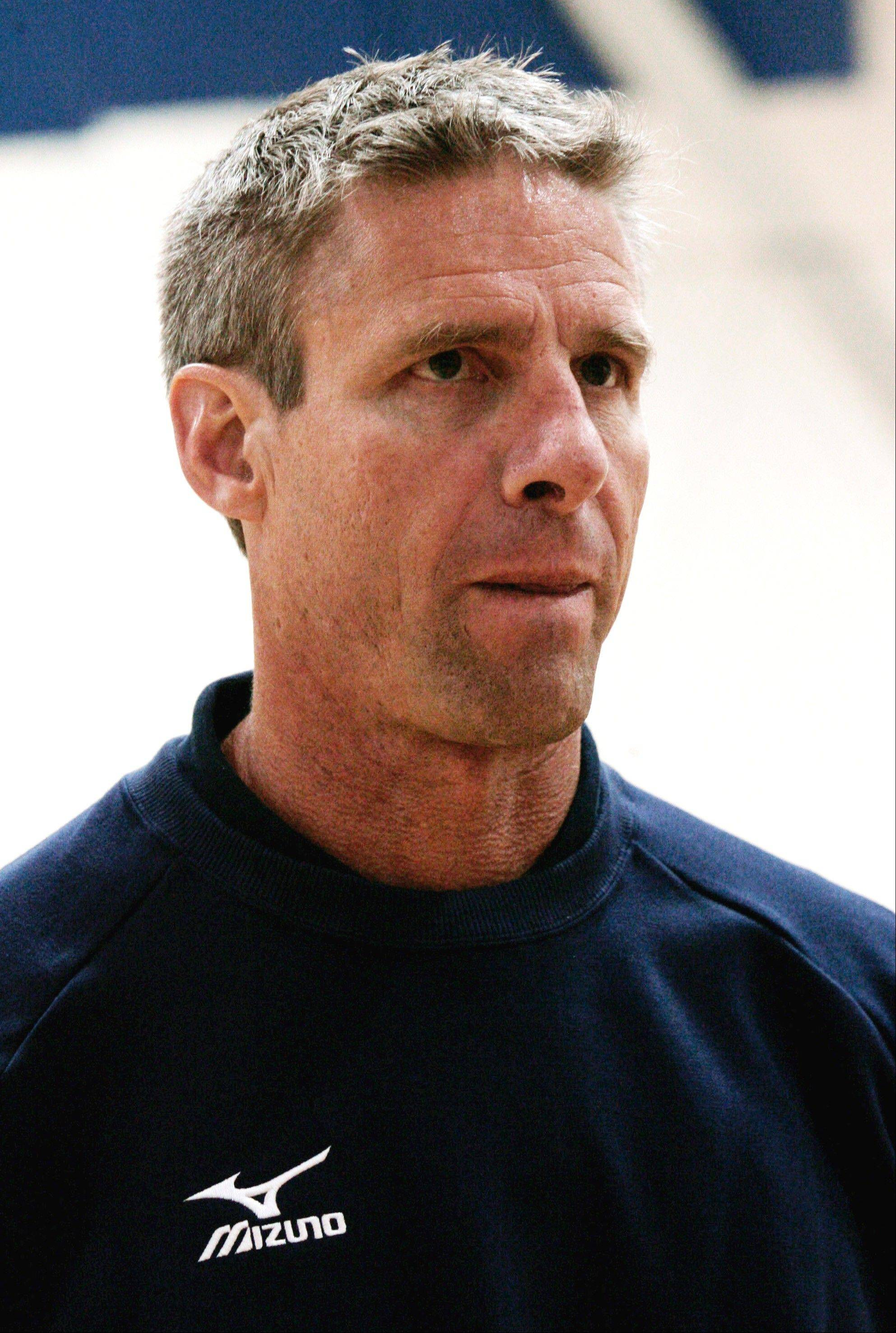 Karch Kiraly is the new head coach of the U.S. women's national volleyball team.