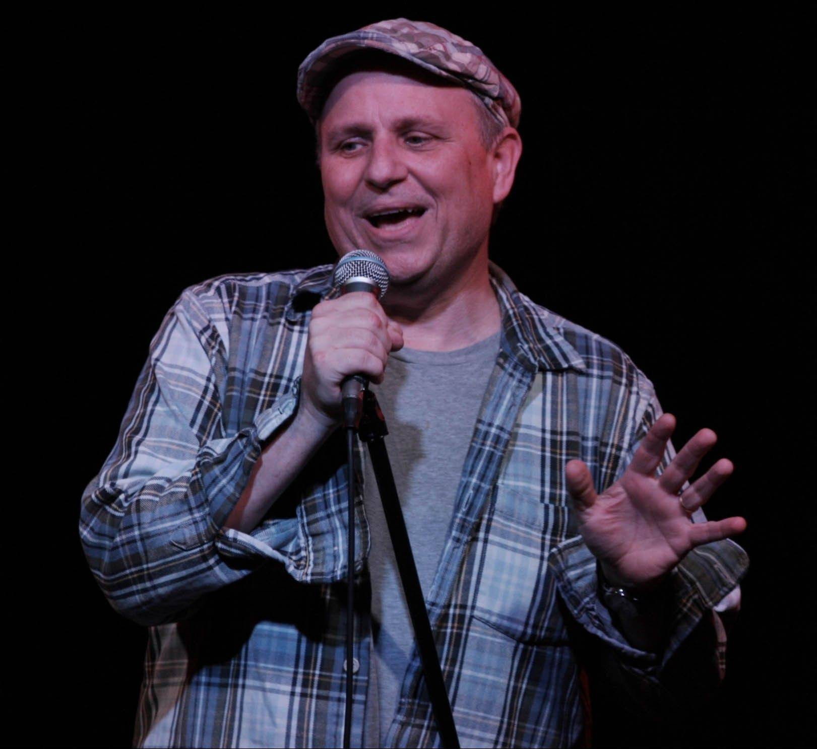 Comedian, actor and film director Bobcat Goldthwait appears at the UP Comedy Club in Chicago.