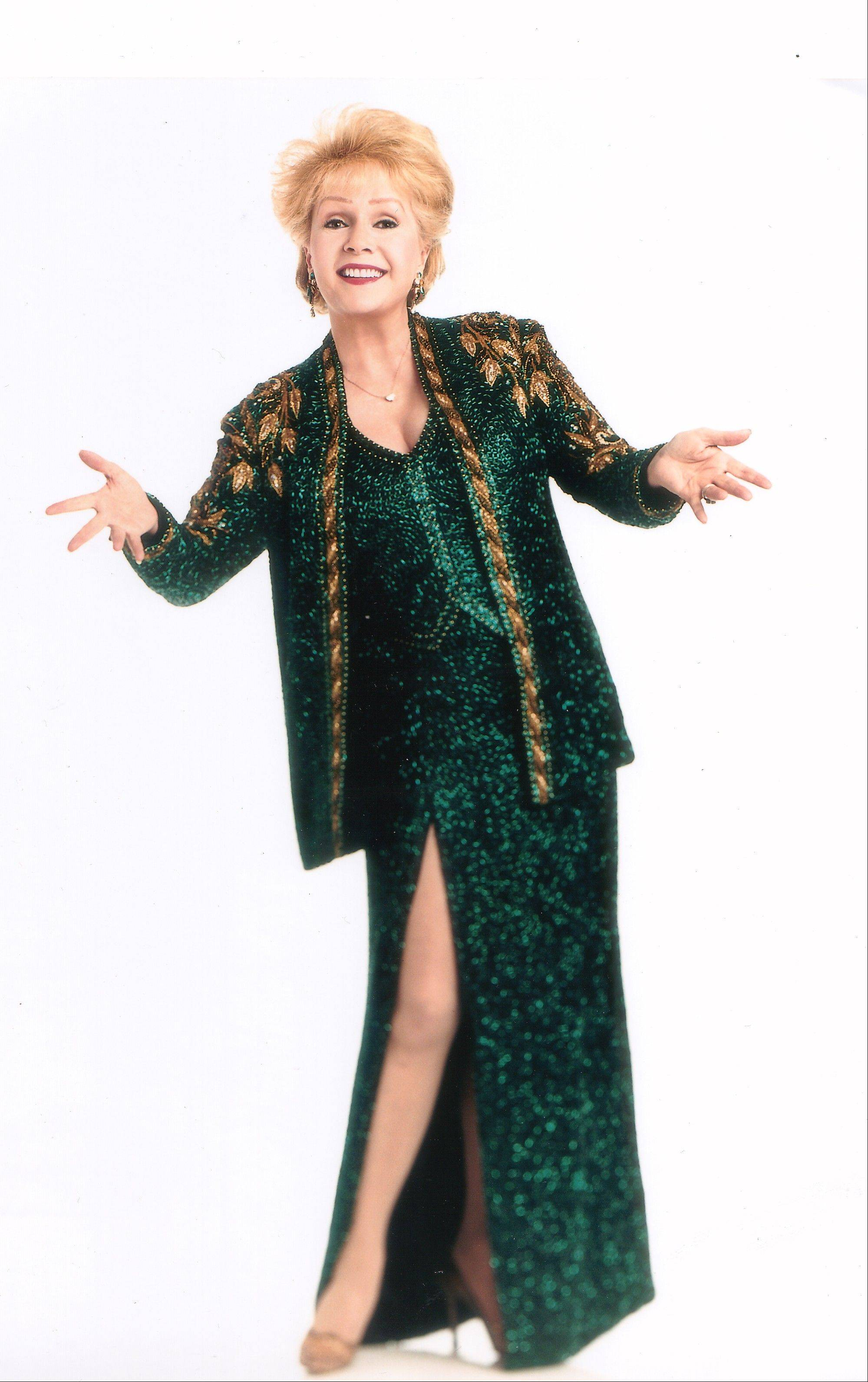 Hollywood legend Debbie Reynolds will perform three shows at the Drury Lane Theatre in Oakbrook Terrace on Monday and Tuesday, Sept. 17 and 18.