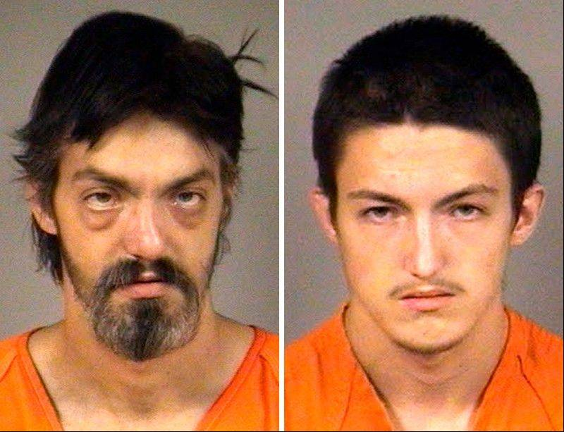 Armin Wand III, 32, left, and his 18-year-old brother, Jeremy Wand, have been charged with three counts of first-degree intentional homicide and one count of arson with intent to defraud in Wisconsin.
