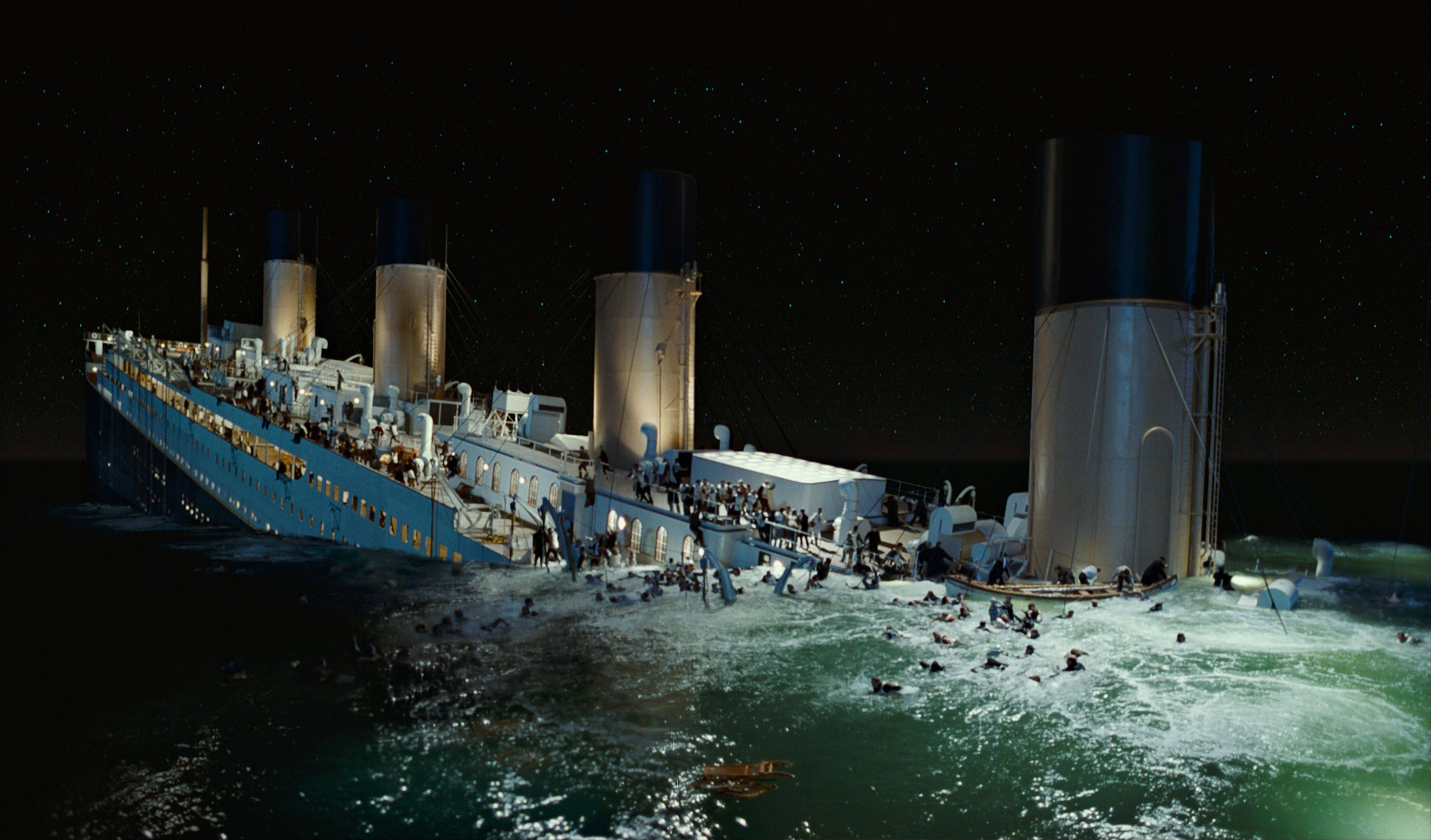 "A scene is from the 3-D version of James Cameronís romantic epic ""Titanic."" Digital Domain Media Group Inc., best known for its work on Cameron's ""Titanic,"" filed in the U.S. Bankruptcy Court for the District of Delaware, along with a Canadian court, on Tuesday."