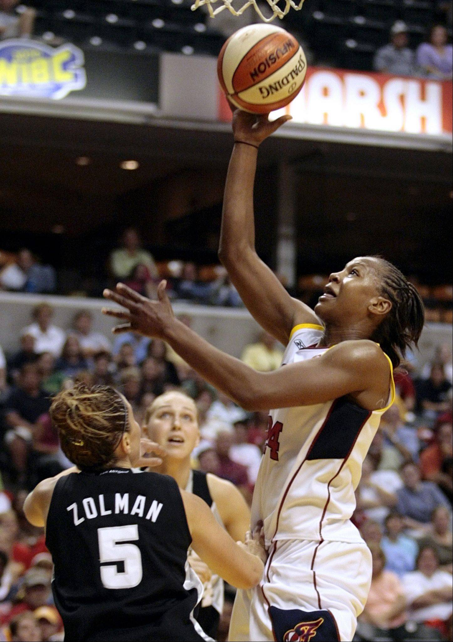 For Indiana Fever forward Tamika Catchings, she learned about volleyball before basketball.