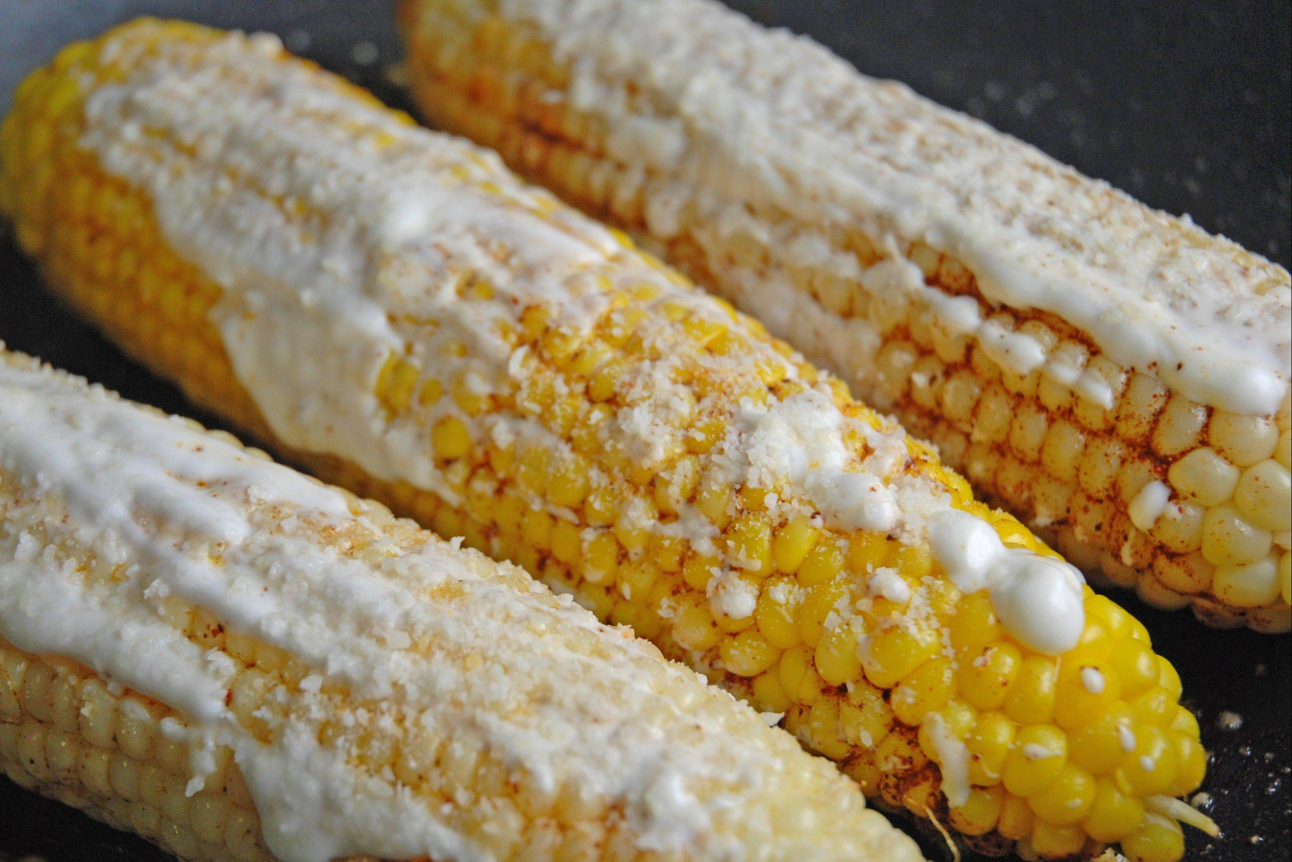 Once you try this Mexican-style corn on the cob you'll never eat plain corn again!