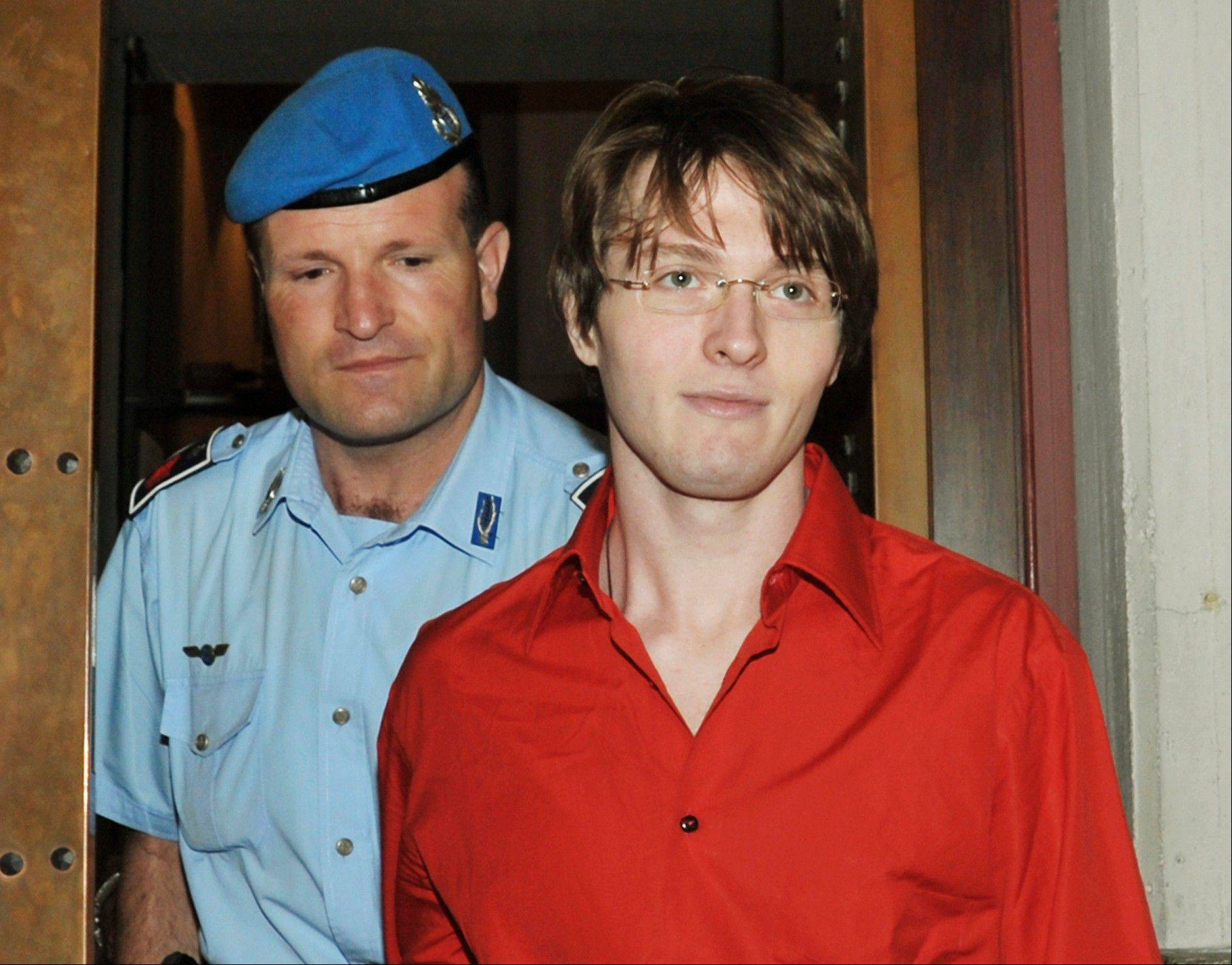 Raffaele Sollecito, whose budding love affair with American exchange student Amanda Knox helped land him in an Italian prison for four years, maintains the couple�s innocence in a new book but acknowledges that their sometimes bizarre behavior after her roommate�s killing gave police reason for suspicion.