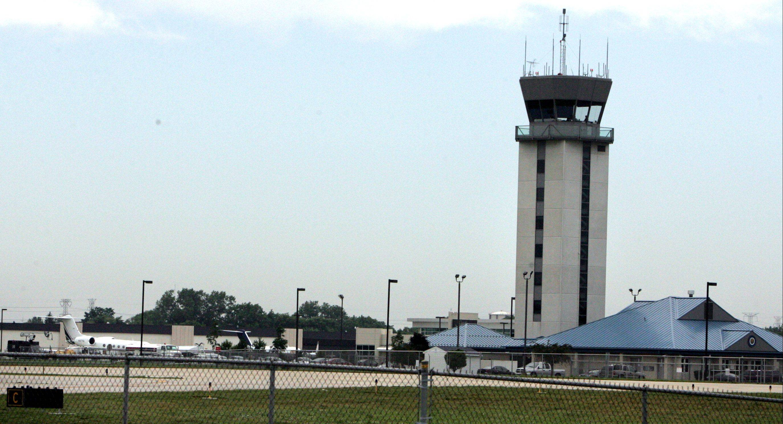 Plans to improve a taxiway at Chicago Executive Airport in Wheeling hinge on the airport�s ability to obtain state and federal funding.
