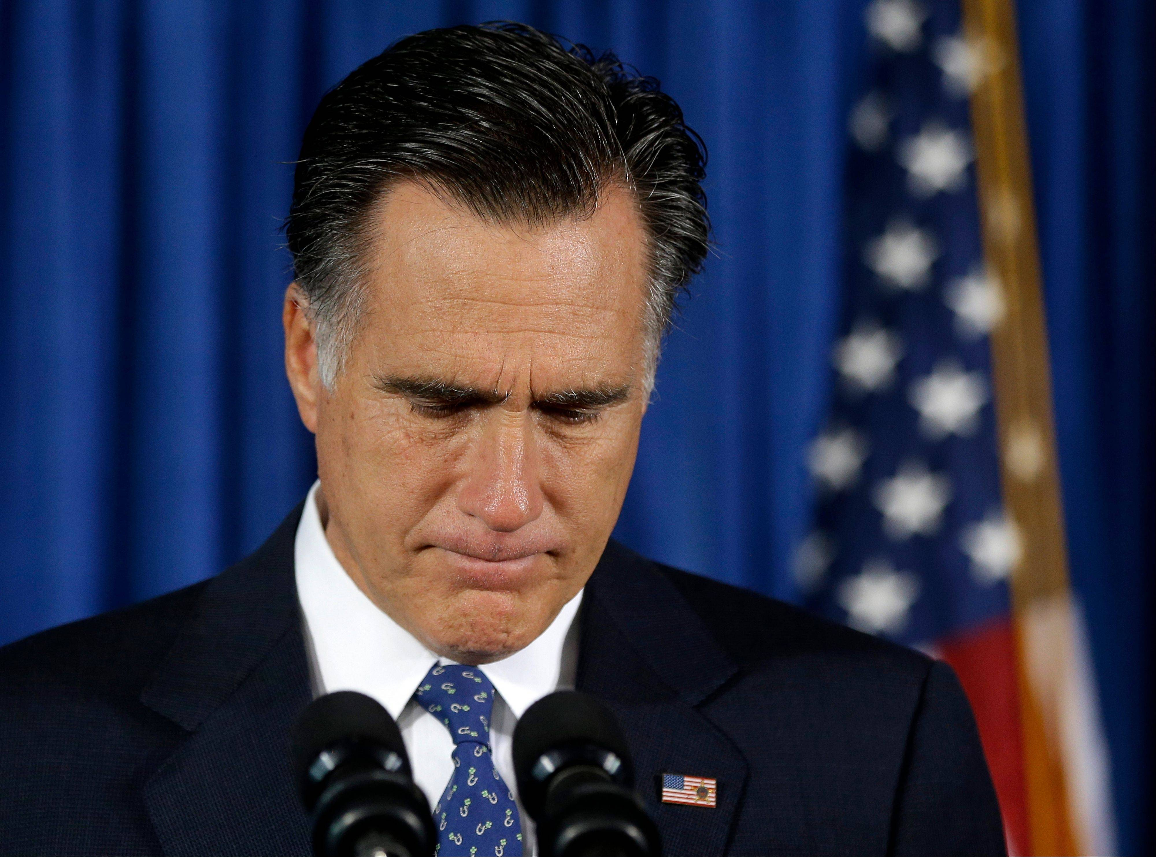 Republican presidential candidate, former Massachusetts Gov. Mitt Romney makes comments on the killing of U.S. embassy officials in Benghazi, Libya, while speaking in Jacksonville, Fla., Wednesday, Sept. 12, 2012.