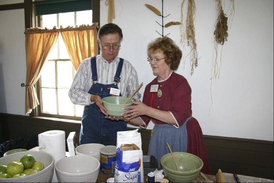 At Lisle's Depot Days, you can sample pies and other baked treats from the Netzley Yender House summer kitchen.