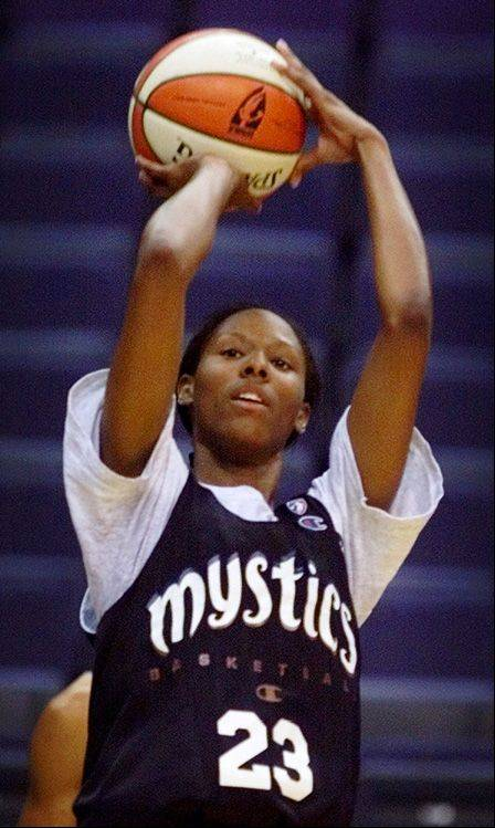 Chamique Holdsclaw was the top pick in the WNBA draft in 1999.
