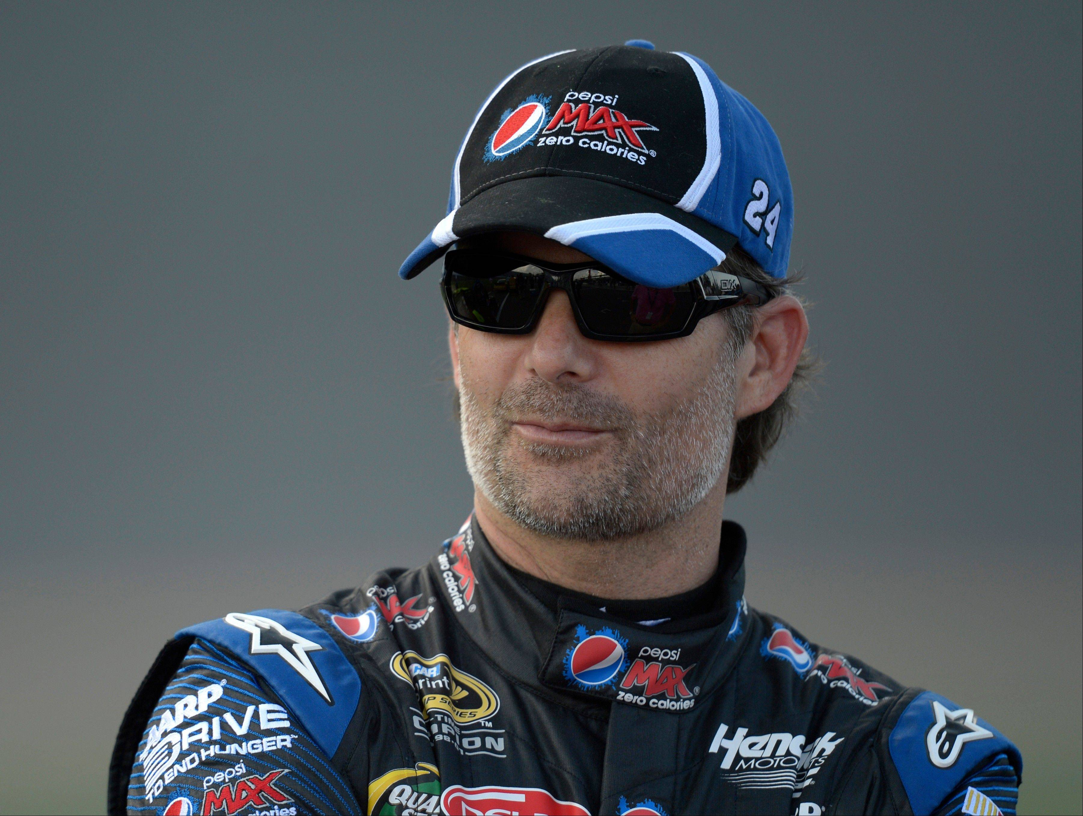 NASCAR driver Jeff Gordon vowed he'd grow his famous mustache back if he made the Chase for the NASCAR Sprint Cup. He qualified Saturday with a late push to finish second at Richmond.