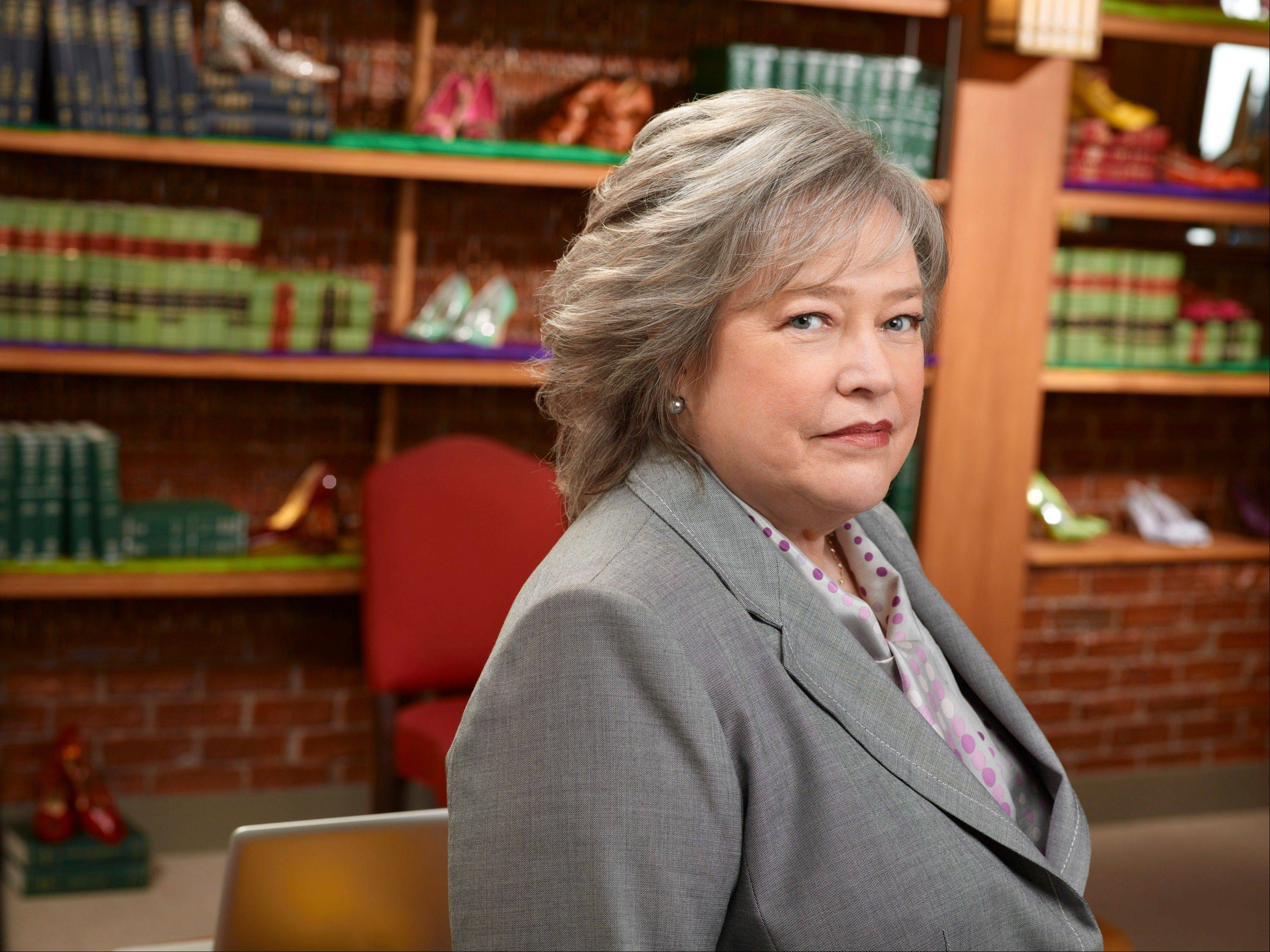 "Kathy Bates played Harriet Korn on ""Harry's Law,"" a drama canceled last May by NBC."
