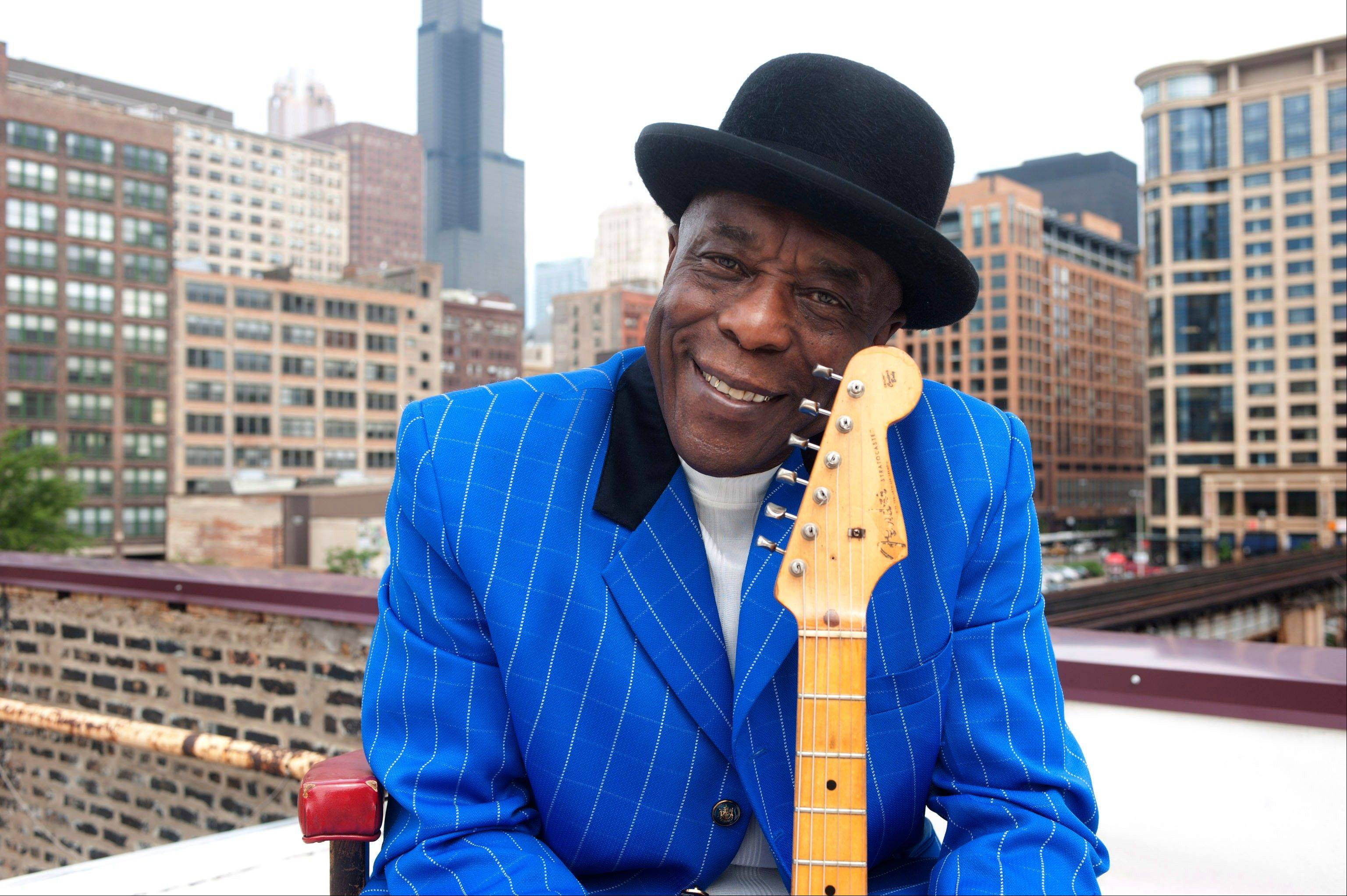 Chicago bluesman Buddy Guy will be among seven people receiving the 2012 Kennedy Center Honors.
