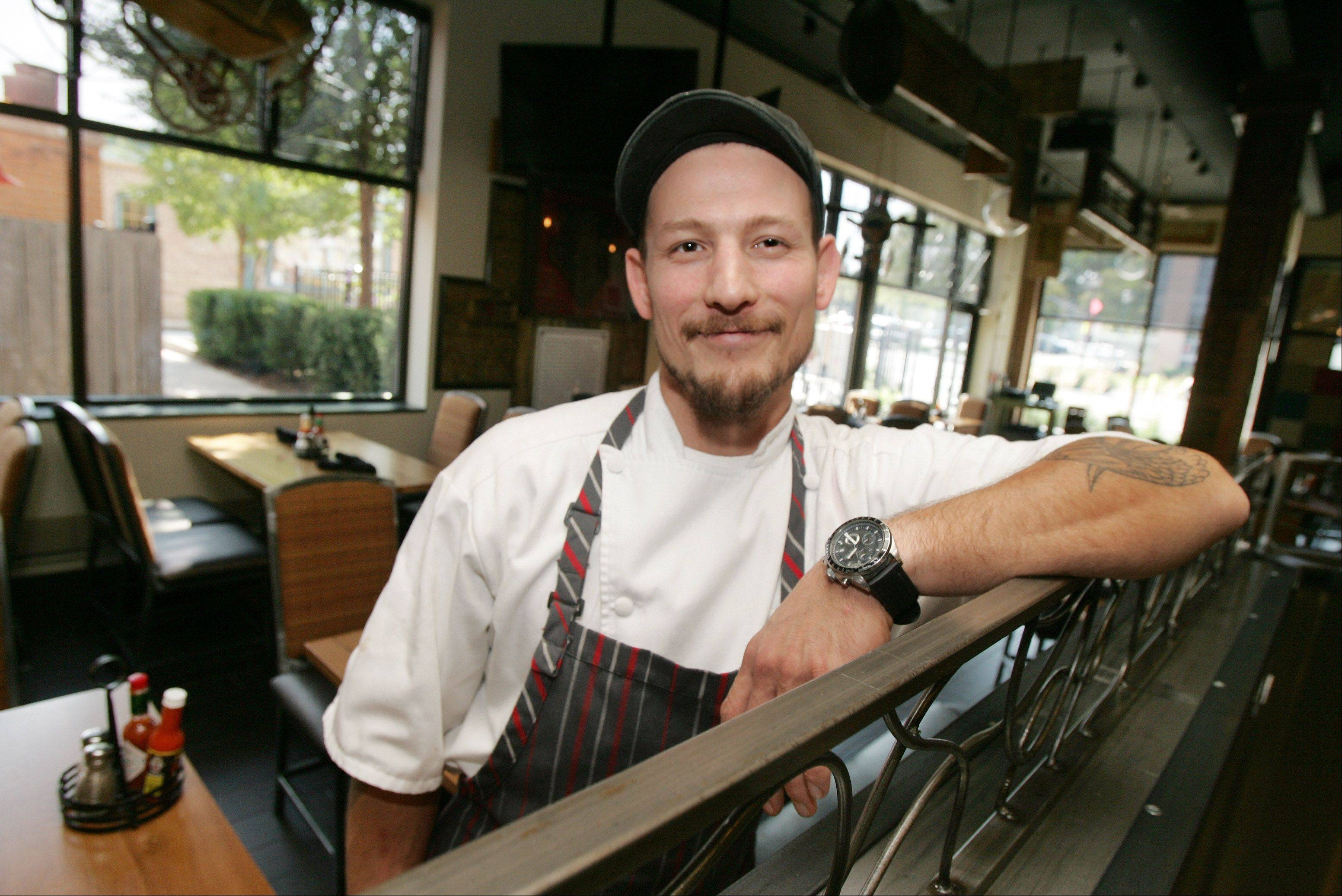 Chef Patrick Hecht helps craft the menu at Chili U in Libertyville.
