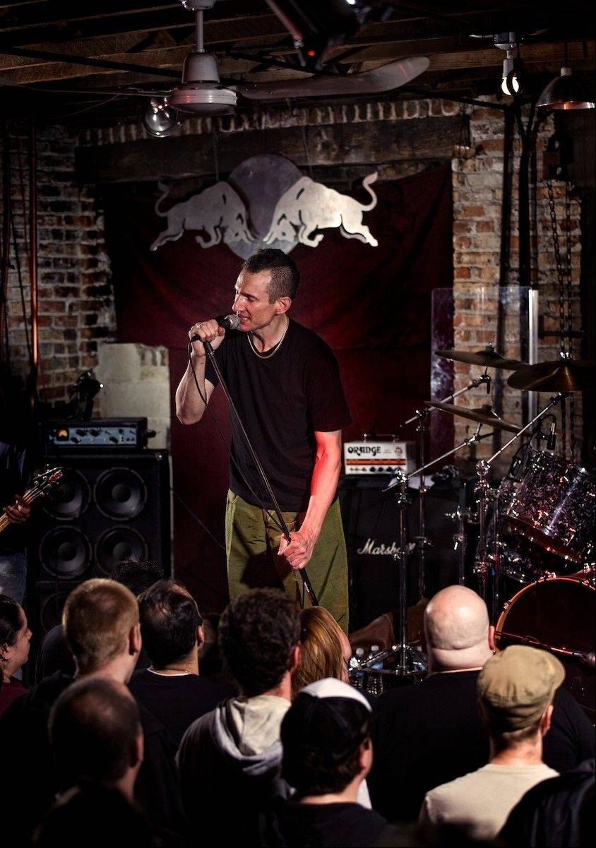Naperville native and longtime Naked Raygun leader Jeff Pezzati will perform with the band at Subterranean Friday, Sept. 14.