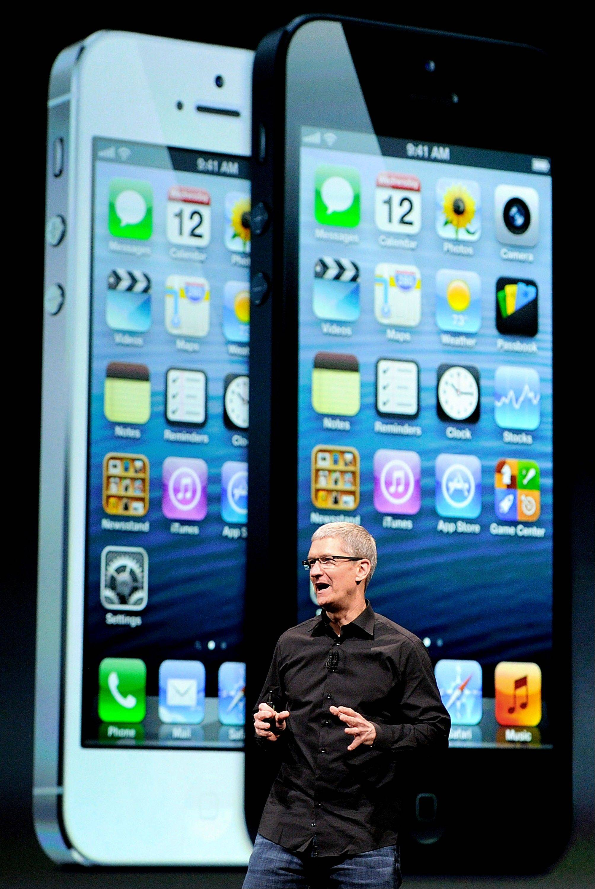 Tim Cook, chief executive officer of Apple Inc., speaks during an event in San Francisco, California, U.S., on Wednesday, Sept. 12, 2012.