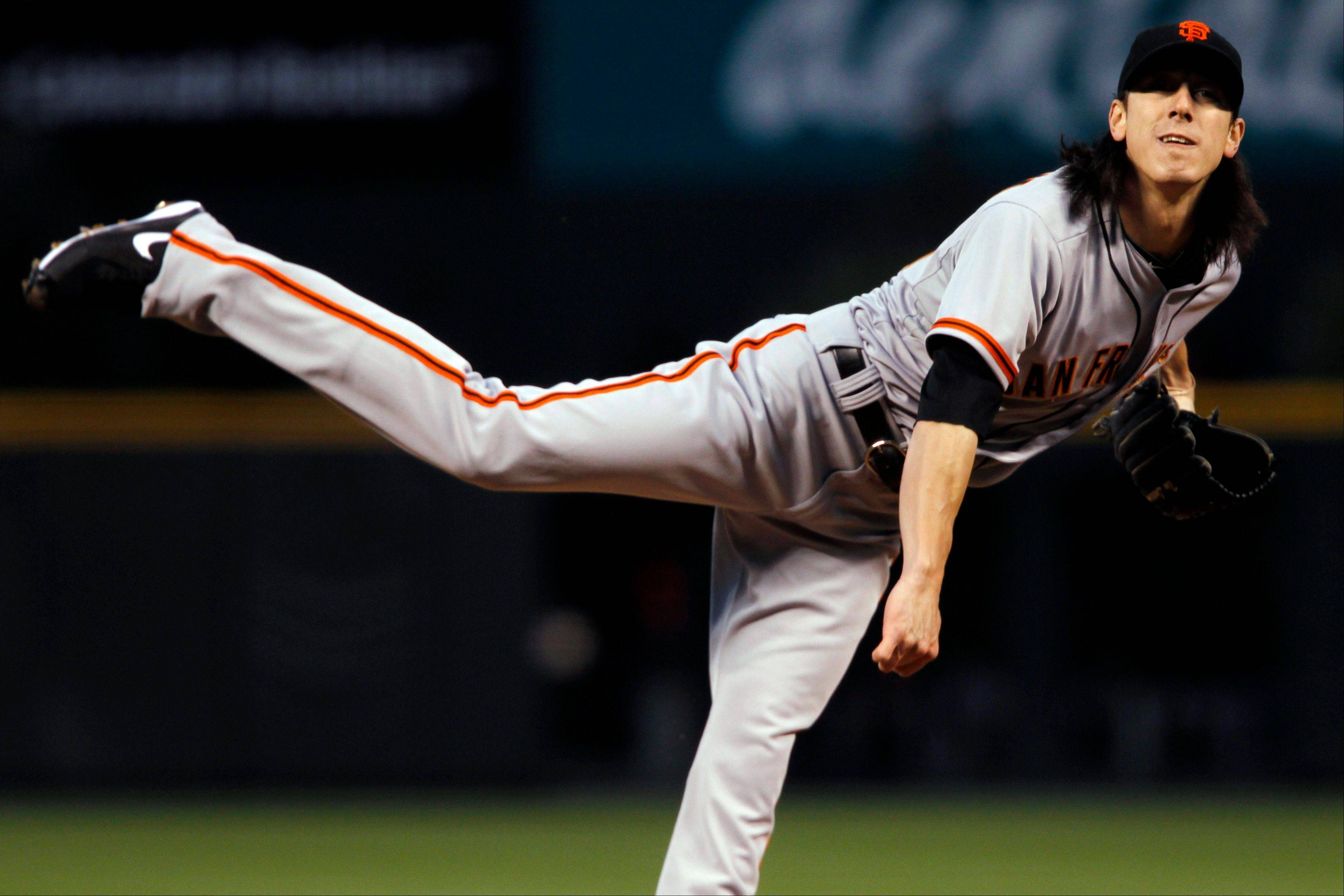 San Francisco Giants starting pitcher Tim Lincecum struck out eight and walked four Wednesday in a road win over the Colorado Rockies.