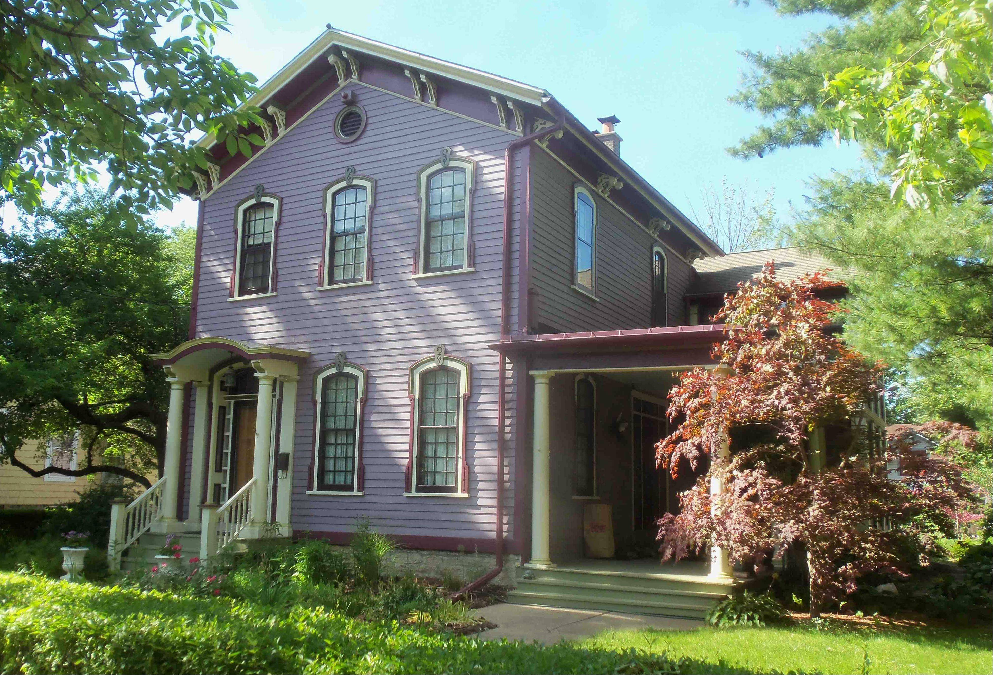The home at 513 W. Downer, built in 1871, is the oldest home on the Aurora Historical Society's house tour.