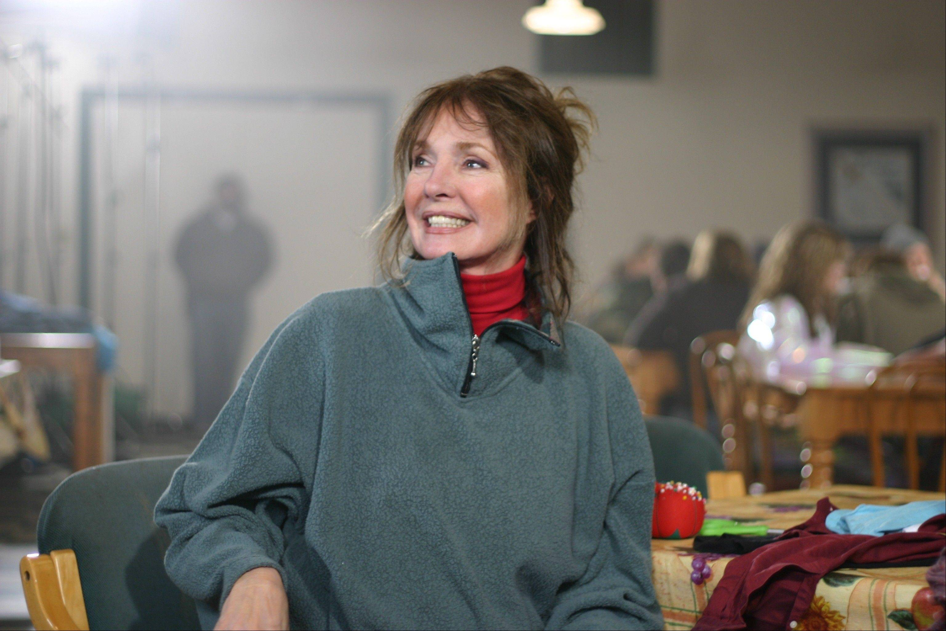 "Jennifer O'Neill co-stars as a small town mayor's wife in the drama ""Last Ounce of Courage."""