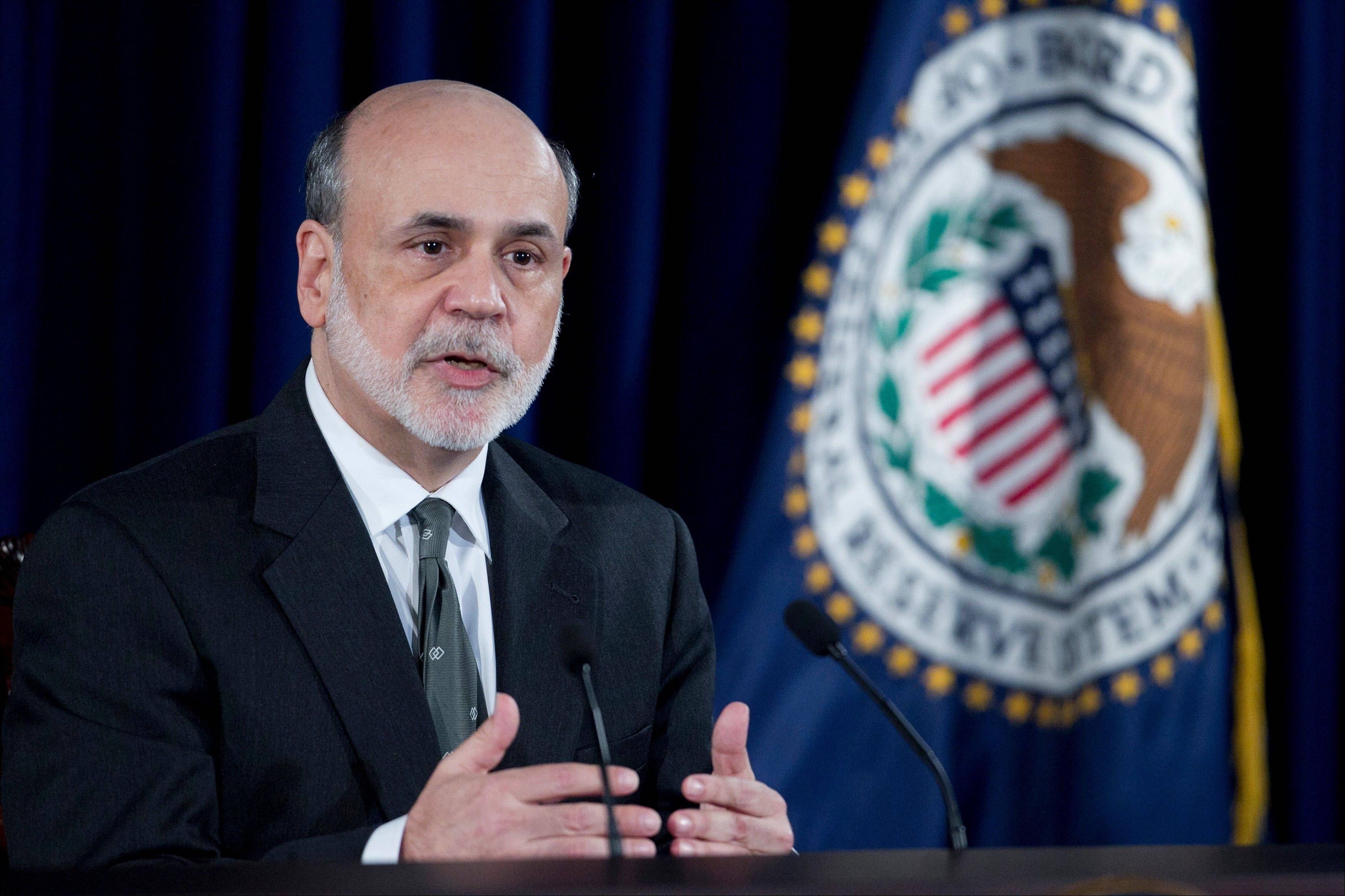 Associated PressBen S. Bernanke, chairman of the U.S. Federal Reserve, speaks during a news conference following a Federal Open Market Committee (FOMC) meeting in Washington, D.C., Thursday. The Federal Reserve said it will expand its holdings of long-term securities with open-ended purchases of $40 billion of mortgage debt a month in a third round of quantitative easing.