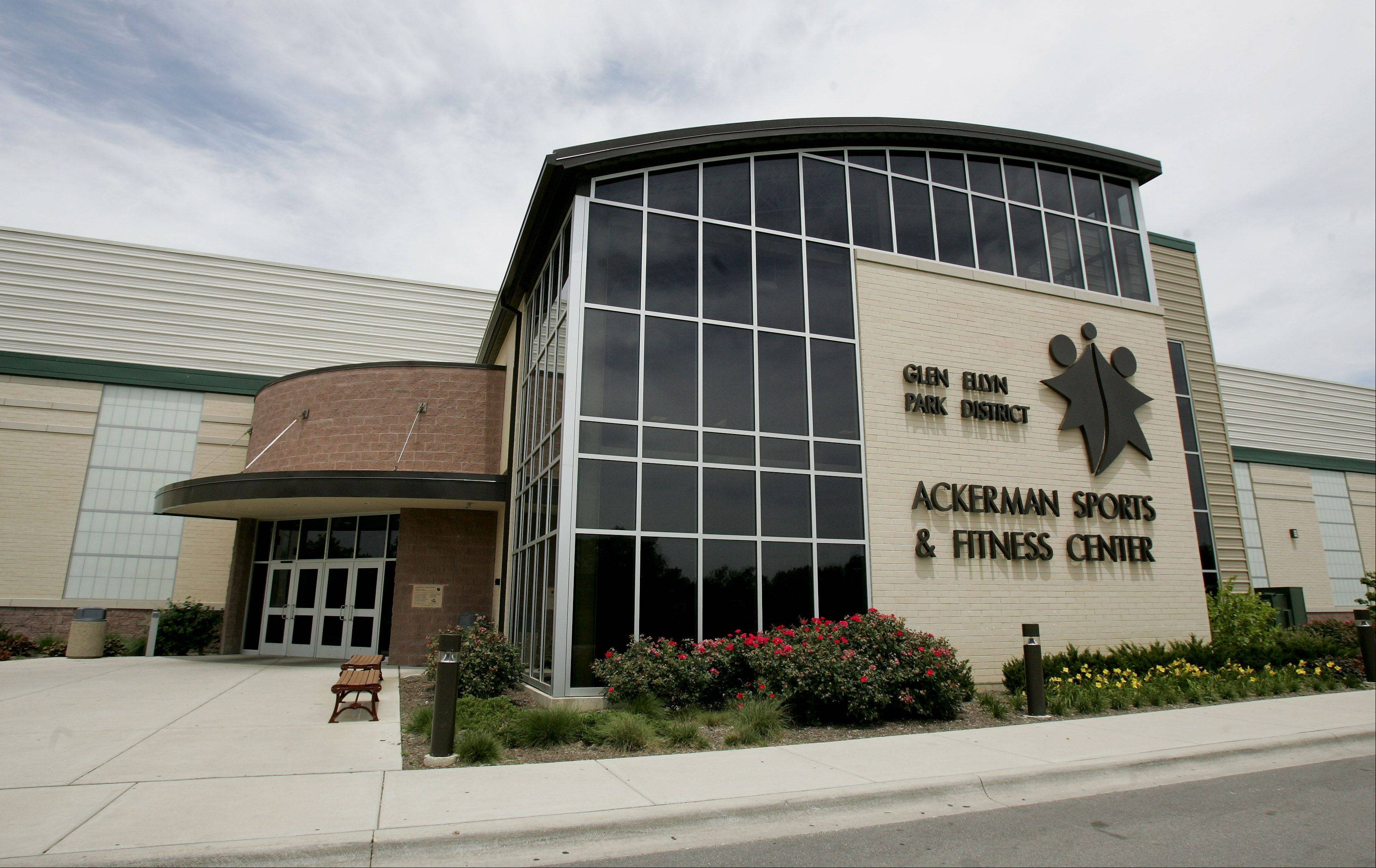 Major roof repairs at the Ackerman Sports and Fitness Center were completed Thursday, Glen Ellyn Park District officials said.