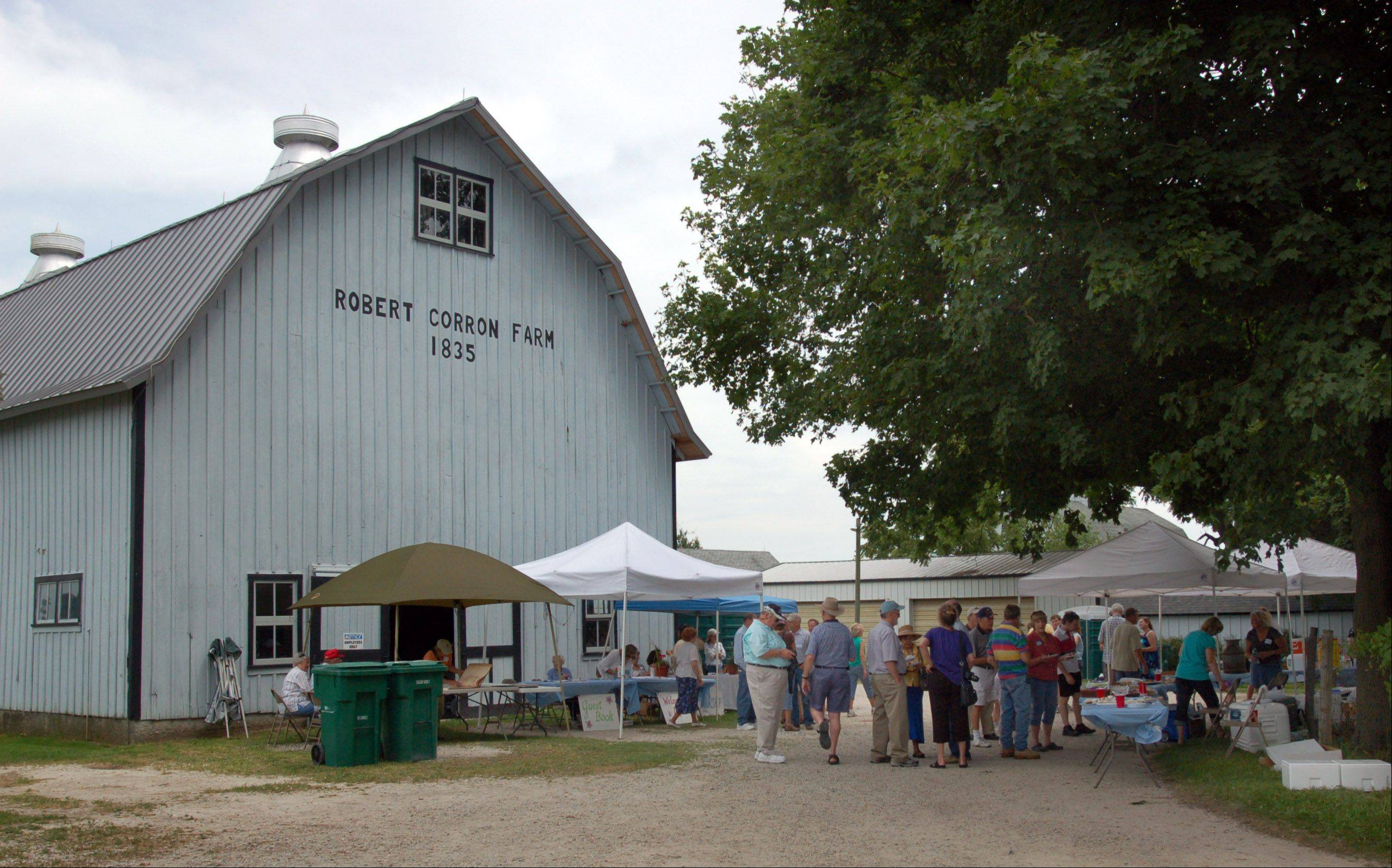 The Corron Farm hosts Prairie Fest Saturday, and tours of the 1850s farm house will be conducted.