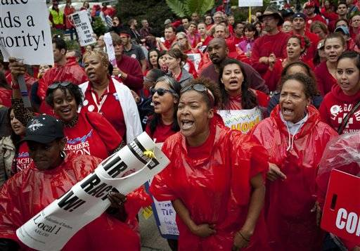 Teachers, union close to settling strike