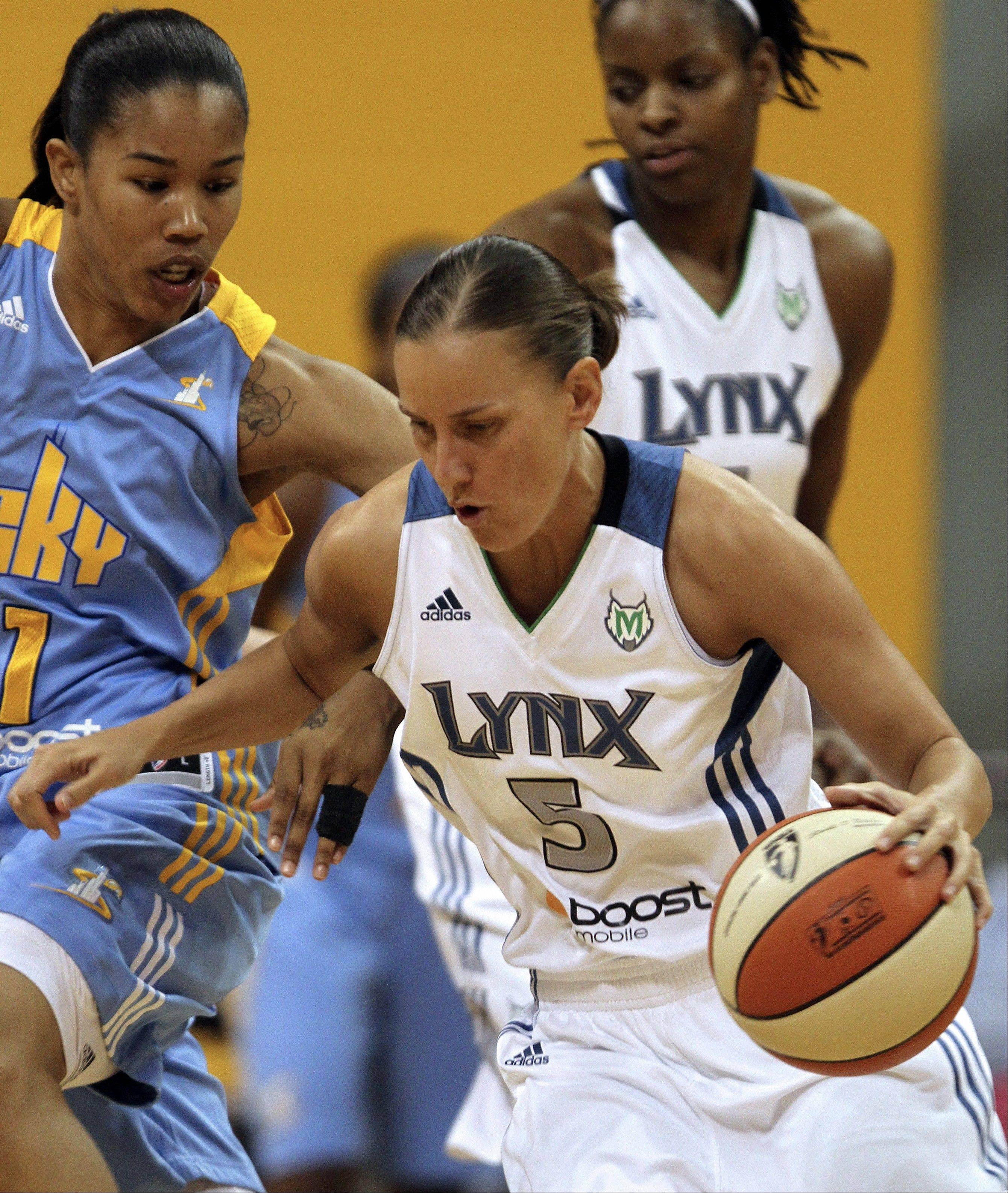 After 10 years in the WNBA, 3-point specialist Erin Thorn may grab her first championship with the Minnesota Lynx.