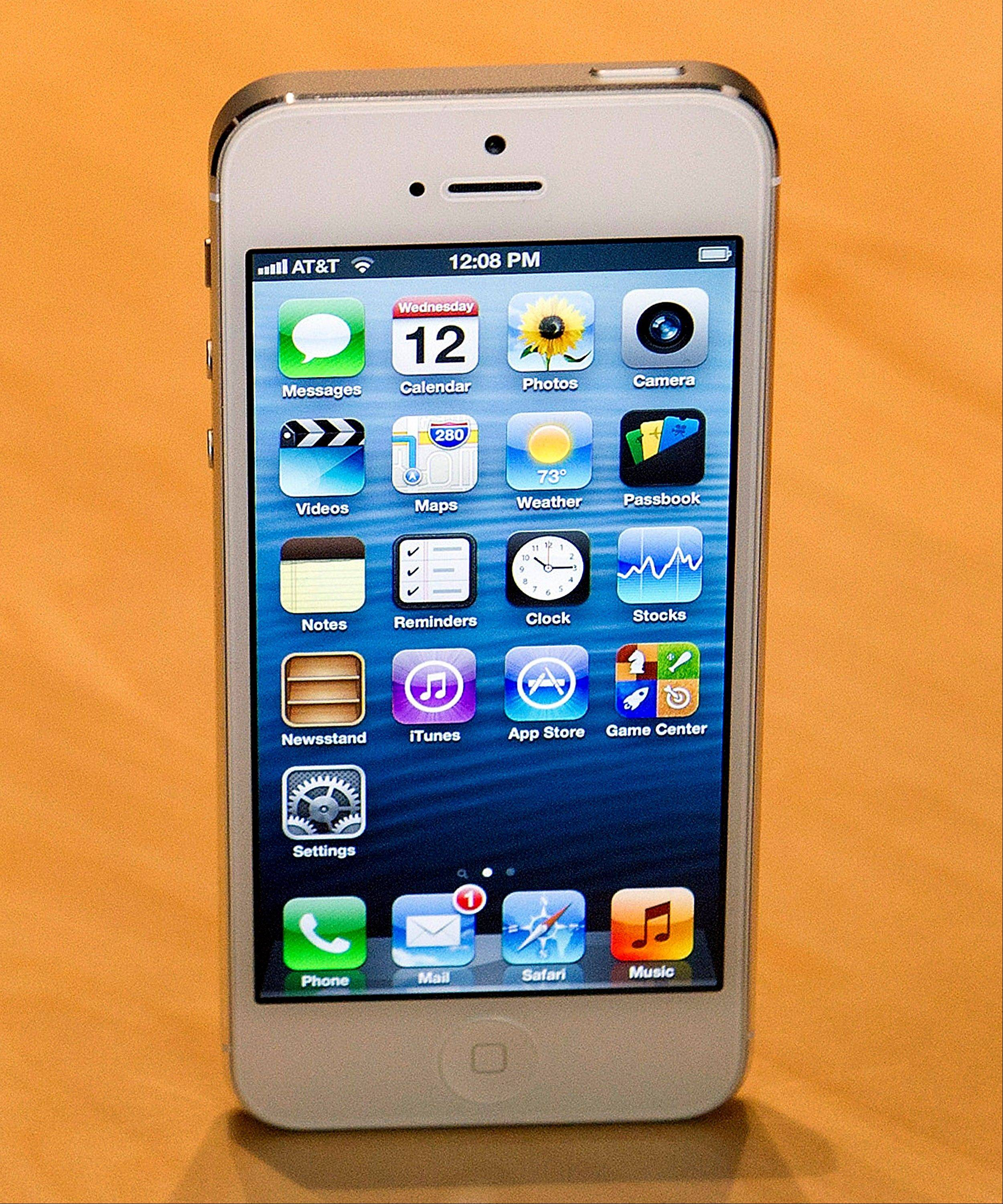 The new Apple Inc. iPhone 5
