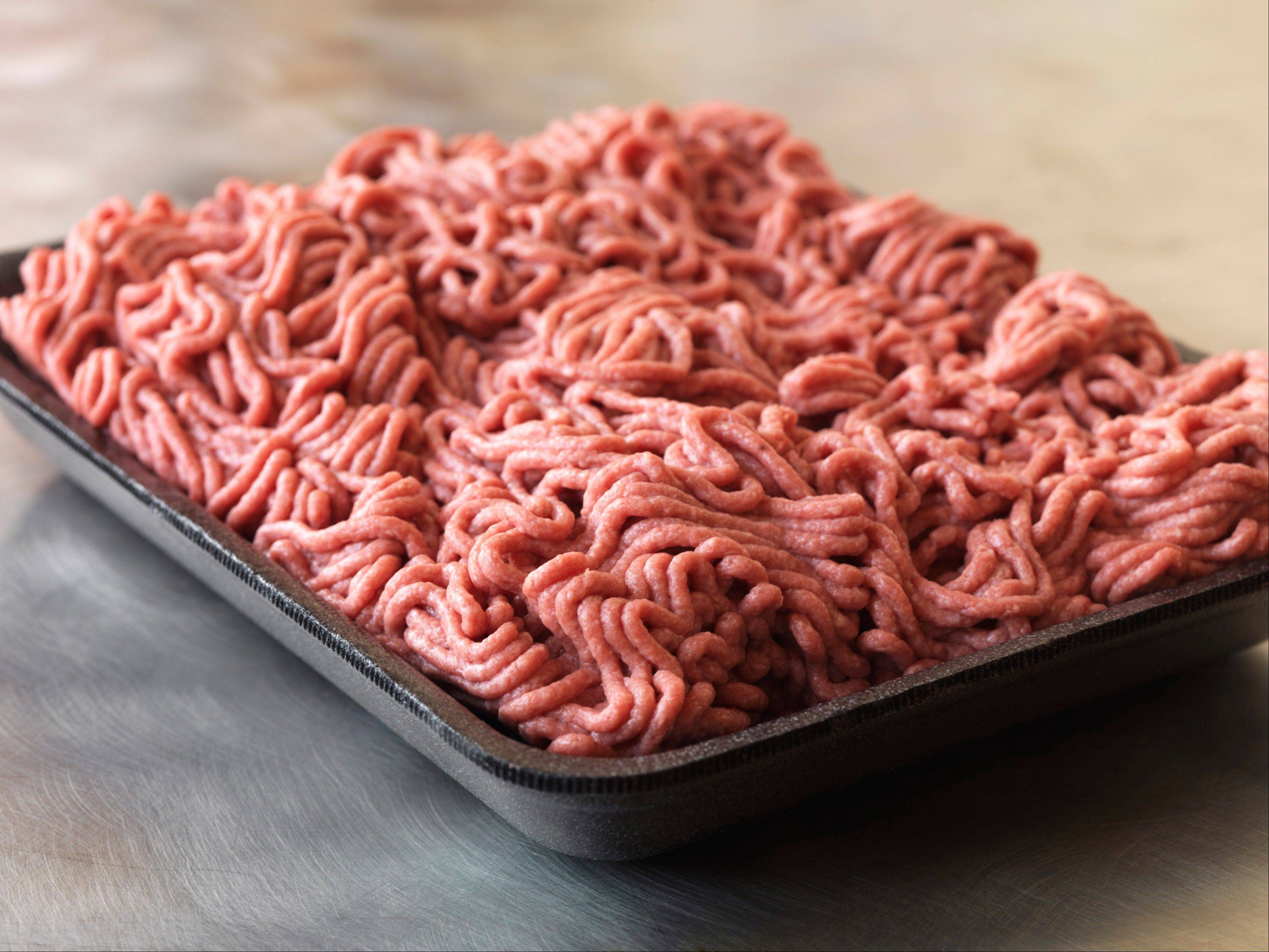 "This September 2012 photo provided by Dakota Dunes, S.D.-based meat processor Beef Products Inc., shows a sample of their lean, finely-textured beef. BPI filed a defamation lawsuit Thursday, Sept, 13, 2012 against ABC News for what it alleges was misleading reporting about a product that critics have dubbed ""pink slime."""
