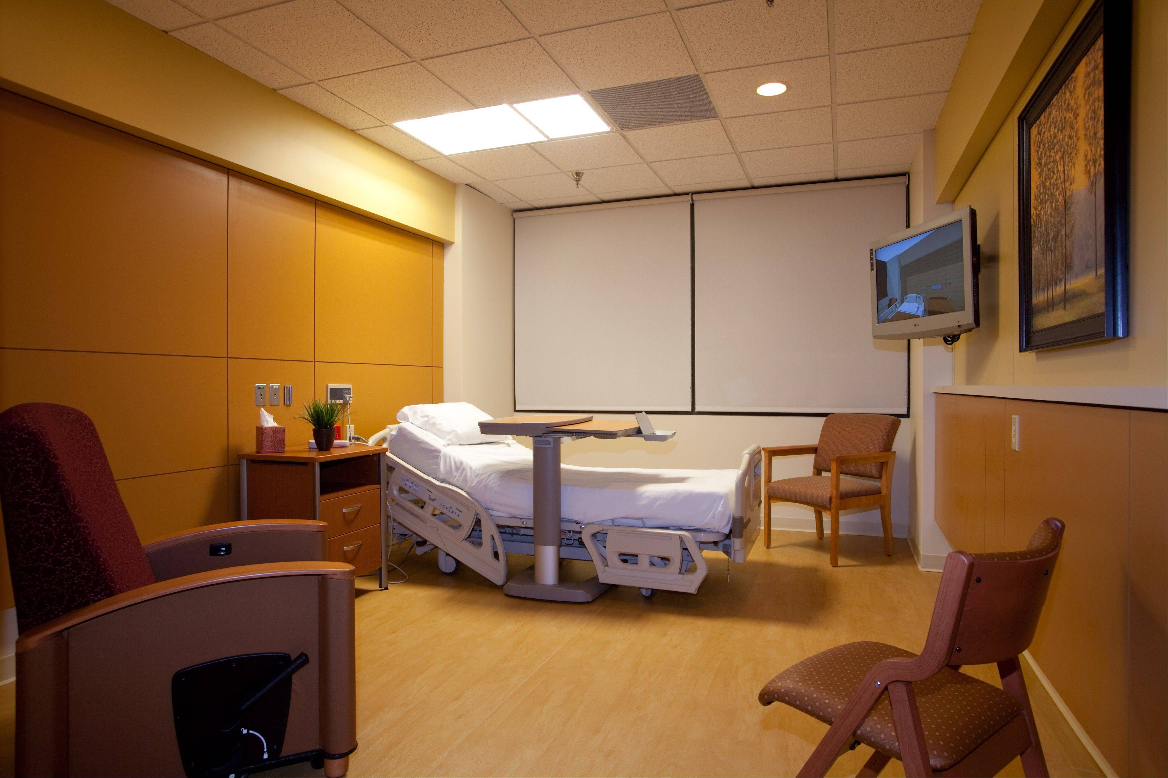 Renovated patient rooms at Provena Mercy Medical Center in Aurora will open for public tours during a picnic from 11 a.m. to 2 p.m. Saturday after an $11 million renovation project to upgrade 90 rooms and convert them from double to single occupancy.