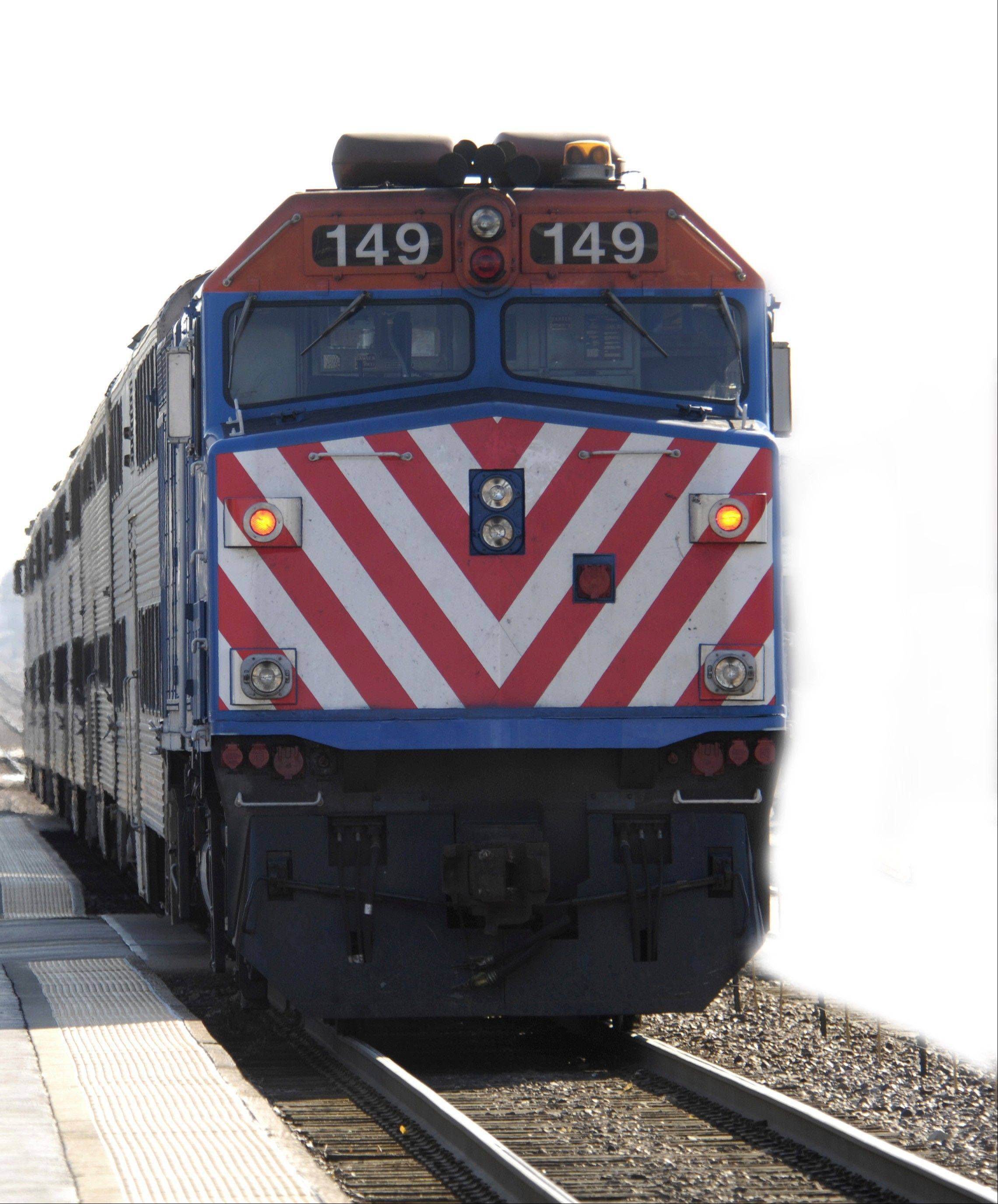 Daily Herald file photoNew locomotives could be coming if the RTA takes out a loan to pay for transit infrastructure.