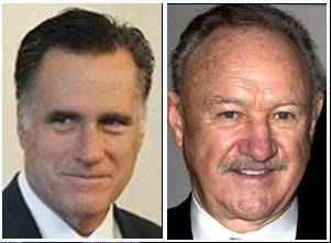 "Mitt Romney would like to see actor Gene Hackman play him in a movie. He's a fan of ""Jersey Shore"" star Nicole ""Snooki"" Polizzi. And when it comes to bedtime attire, Romney's says ""as little as possible."""