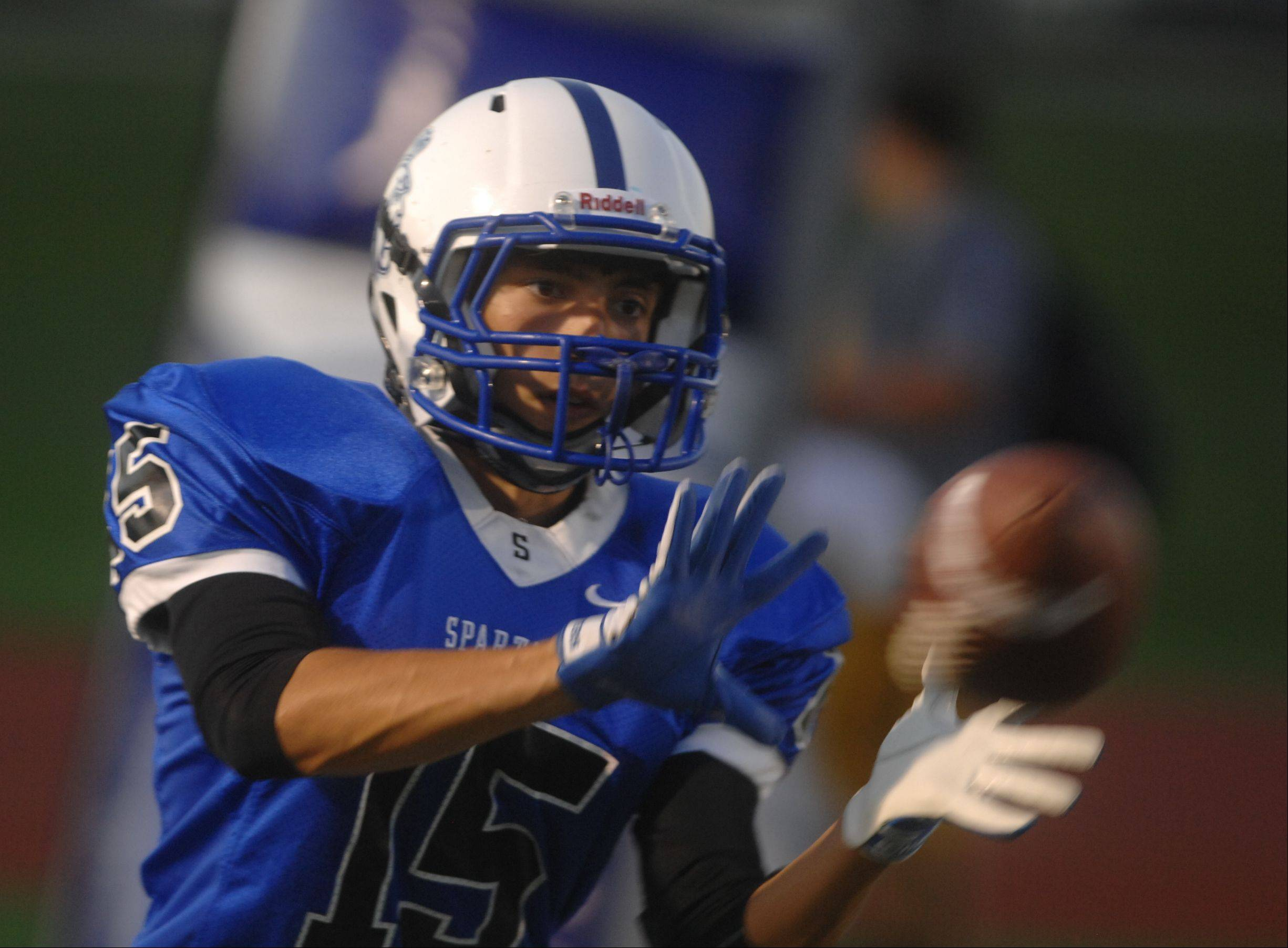 Week -4- Photos from the Montini vs. St. Francis football game Friday, September 14, 2012.